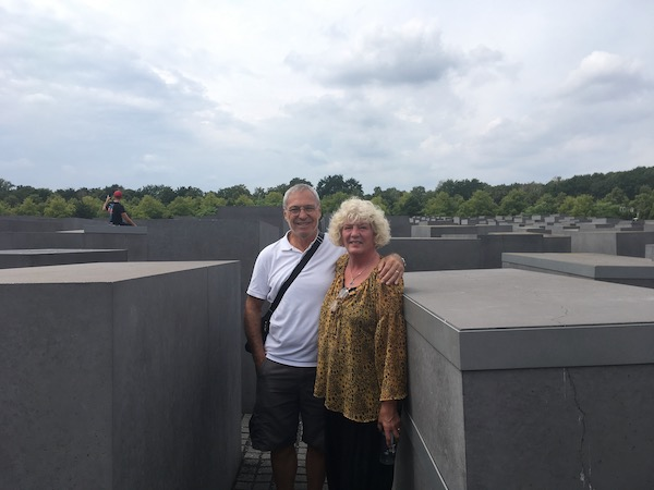 Standing in the center of the  The Memorial to the Murdered Jews of Europe , a sloping maze of stone blocks set at different levels that takes you on a reflective journey. Below ground there is a moving museum dedicated to the Holocaust victims throughout Europe.