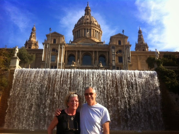 A picture from our first visit in 2014. It included an FC Barcelona match, pagan dancing and a Paella lesson. Here's a link to that blog  Tapas Dancing in Barcelona . We'd just started traveling so it is a fun look back..