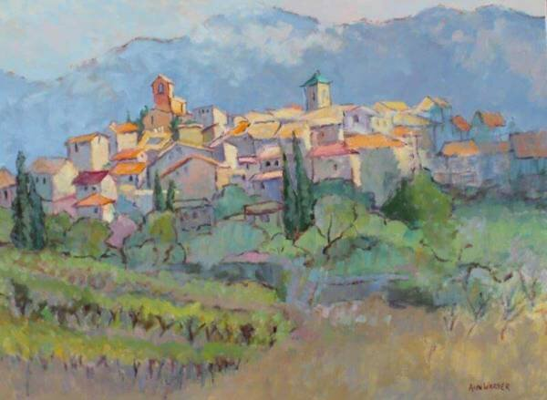 Cezanne's Montagne Saite-Victorie gathered all of the colors of Provence on to one canvas.