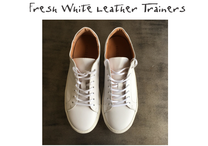 SELECTED FEMME DONNA TRAINERS | £70  Wear with rolled up boyfriend jeans and a snuggly cashmere jumper for a stylish Sunday look, or pair with a pretty summer dress for an edgy look. We promise, they really will go with everything!