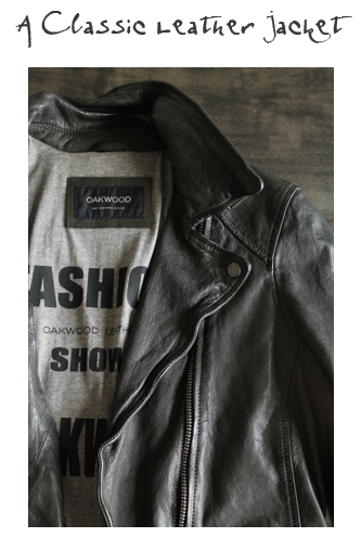 OAKWOOD BLACK LEATHER JACKET | £199  What doesn't a leather jacket look good with?! We've even seen photos of Kate Moss exiting events with one over an evening dress, so if it's good enough for Kate...  This gorgeously soft leather version from Oakwood is timeless and will pair seamlessly with everything in out Best Edit without a second thought.