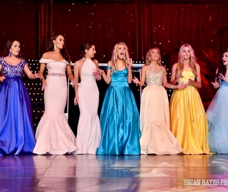 The moment that Eddison is announced as Miss Junior Teen Great Britain!
