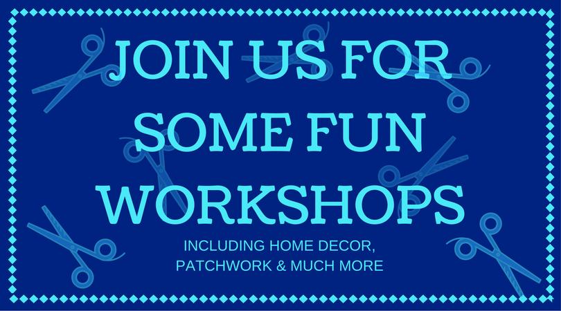 Home Decor, Seasonal & Many More Workshops