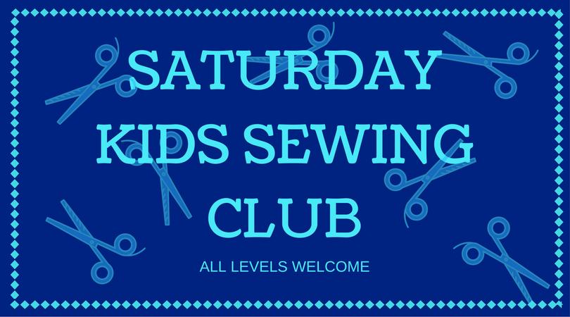 Saturday Kids Sewing club