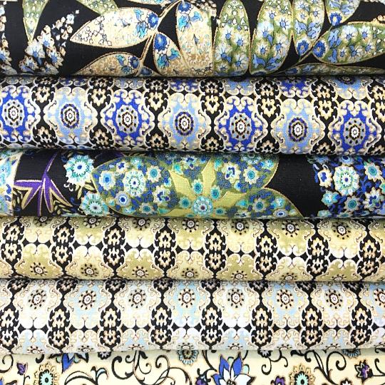 sidmouth fabrics black fabric