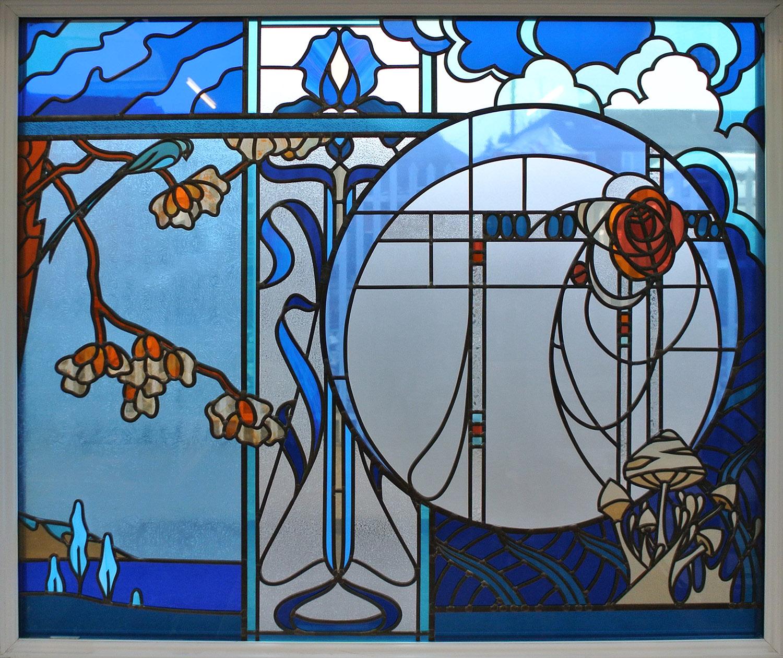 Art Nouveau Inspired Window