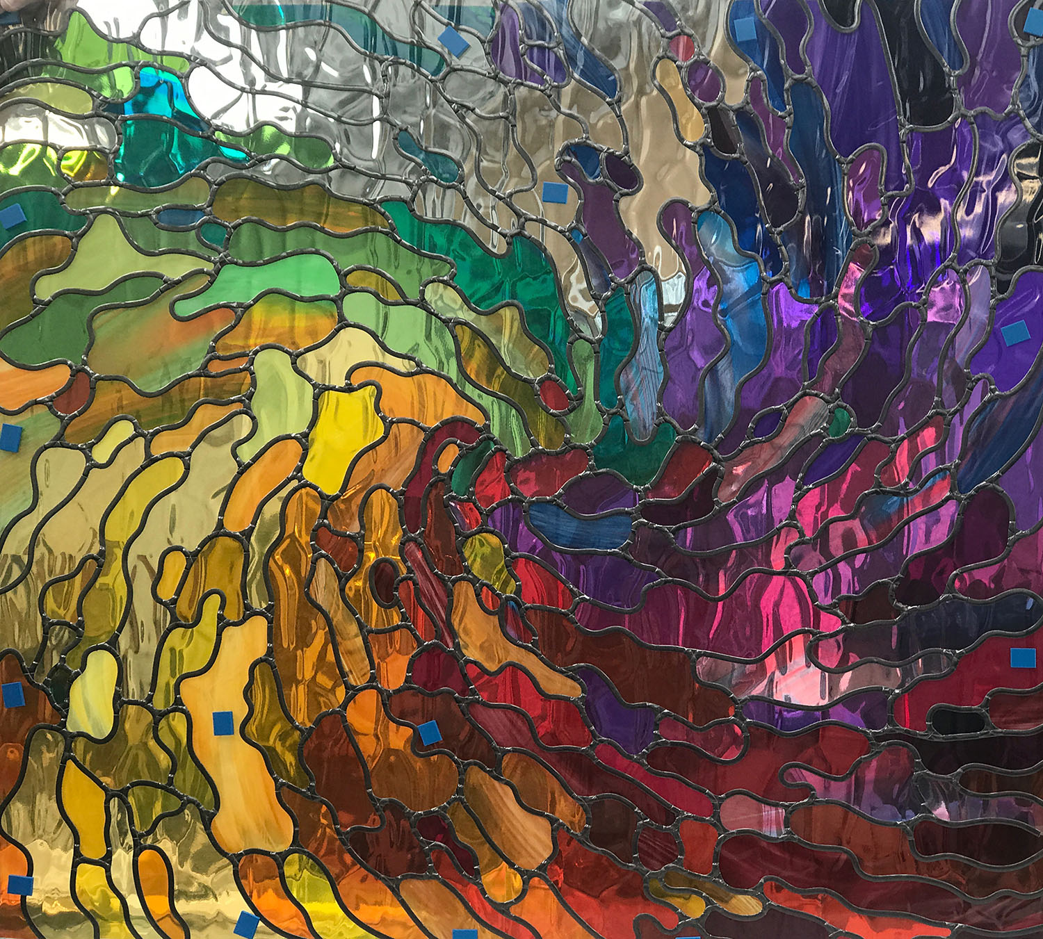 Colourful Abstract Window