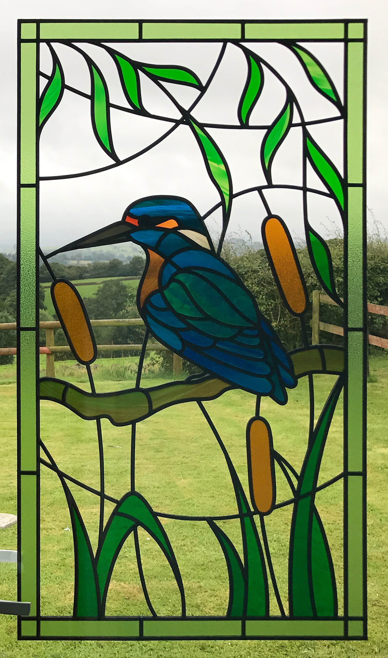 Simple Kingfisher Design