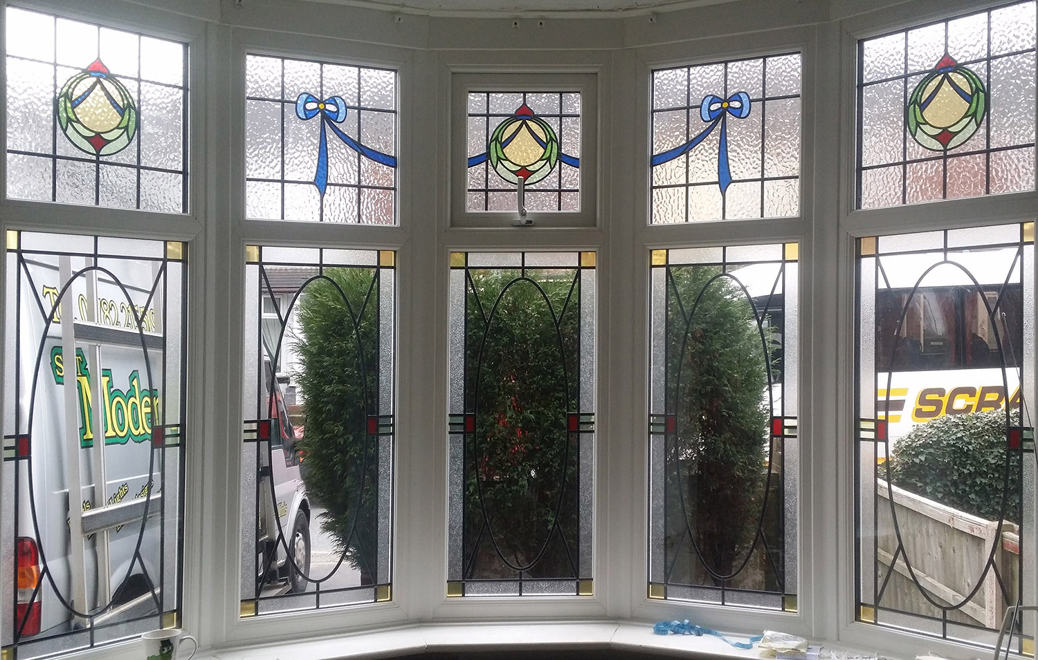 Reproduction of Traditional 1930's Bay Window
