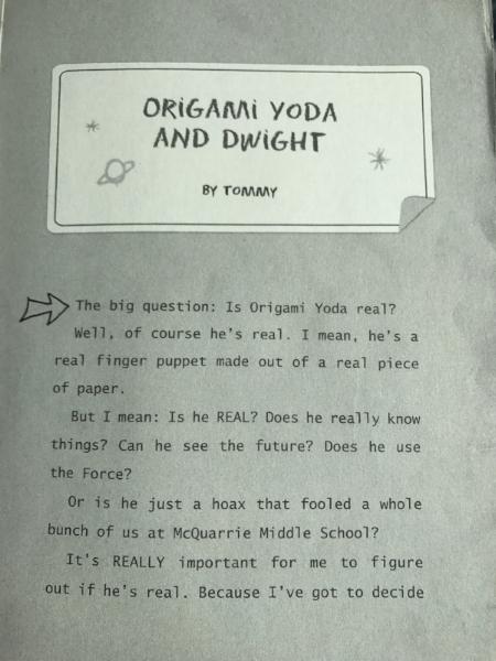 How to Fold | Origami Yoda | 600x450
