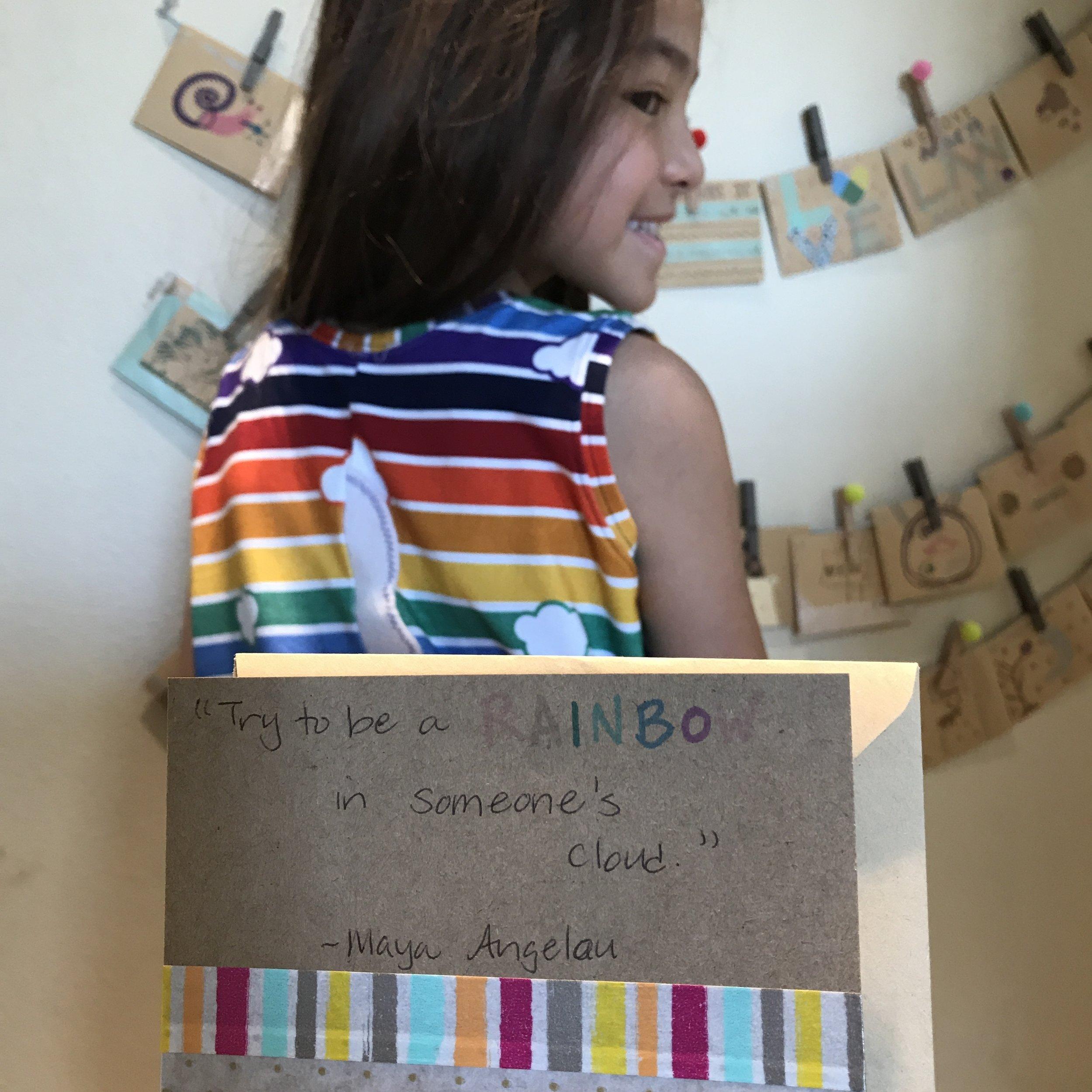 Rainbow Dress Macy's Calendar.JPG