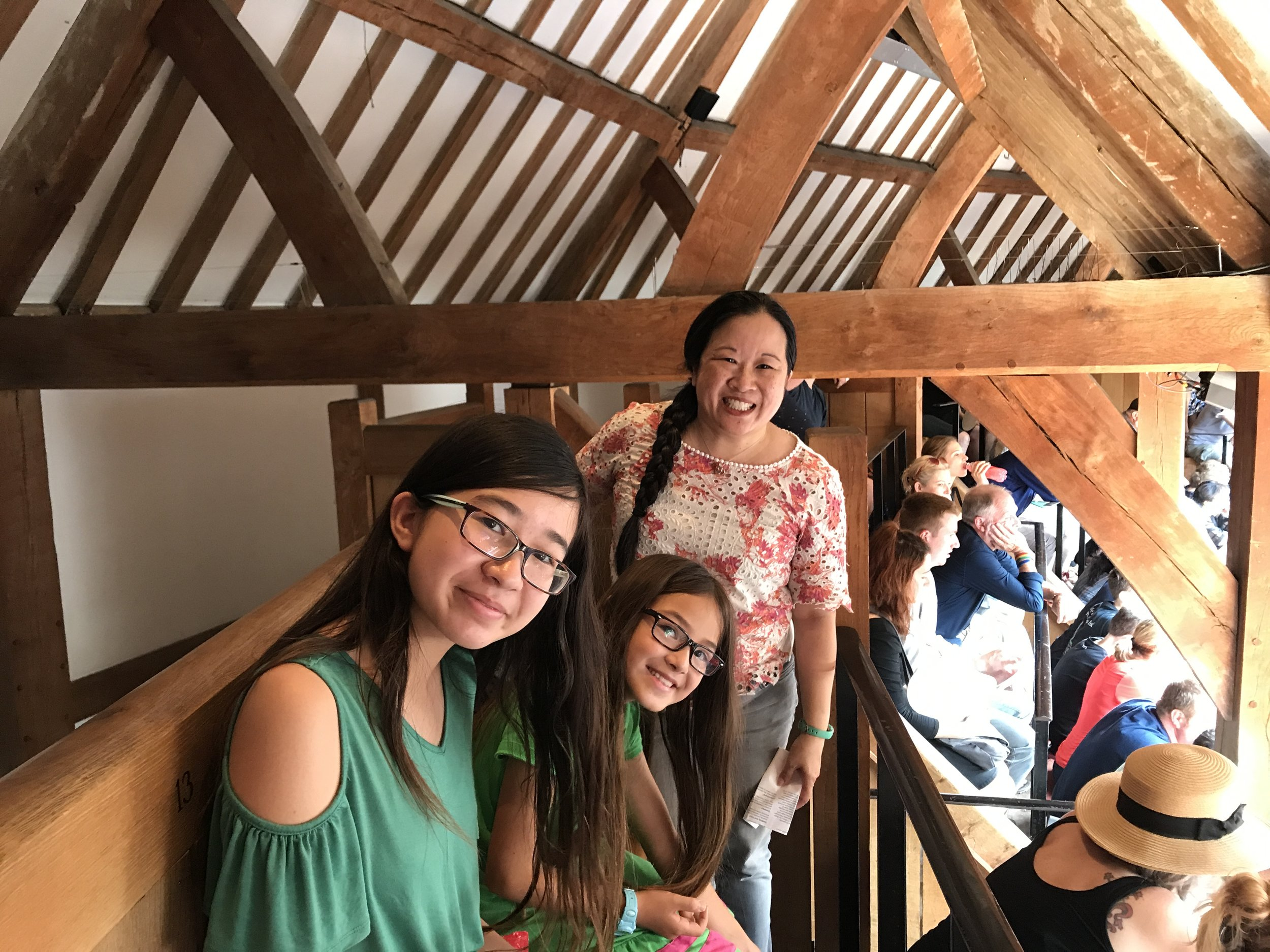 Bookworm Family at the Globe Theater 2.JPG