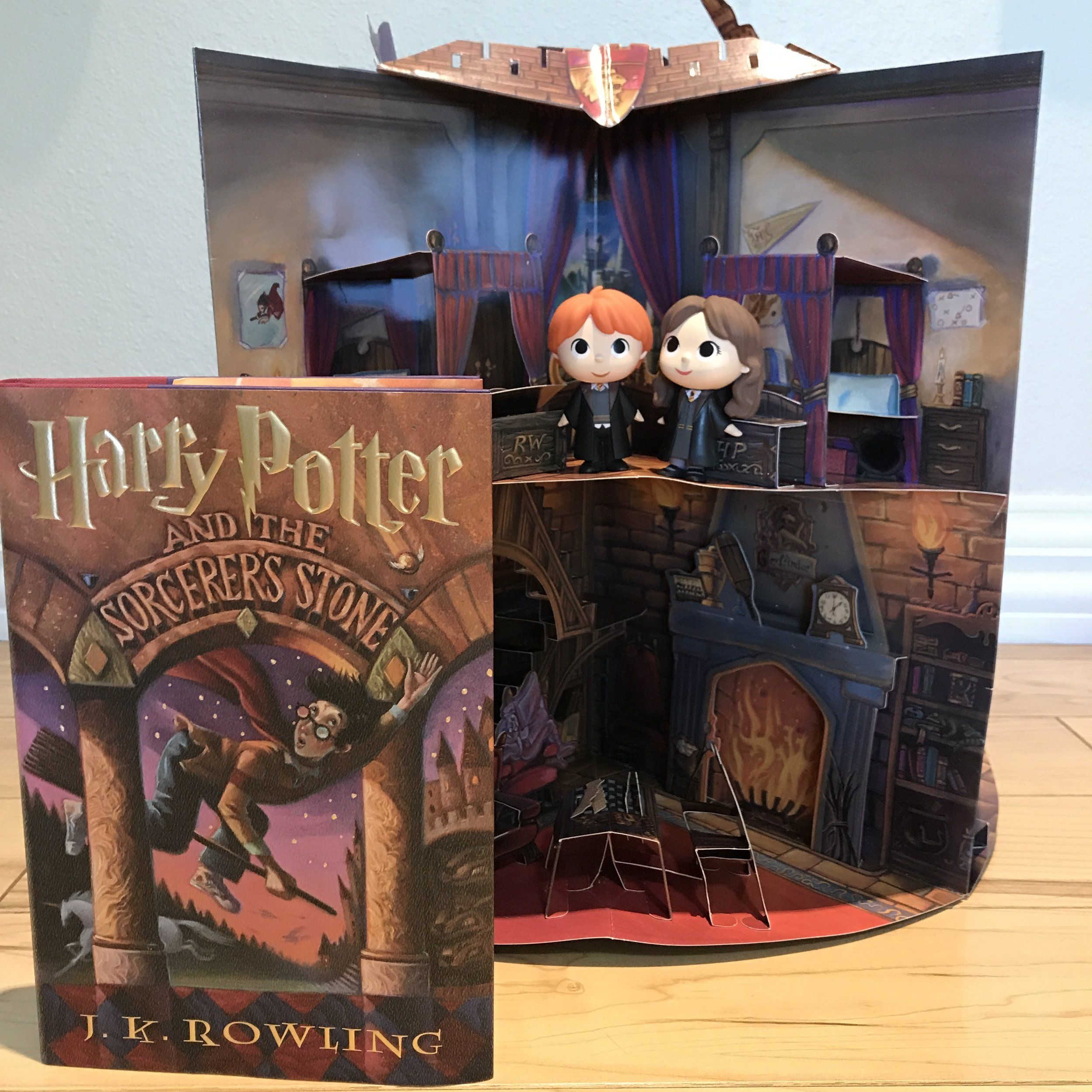 HP with dollhouse Dr Bookworm.JPG