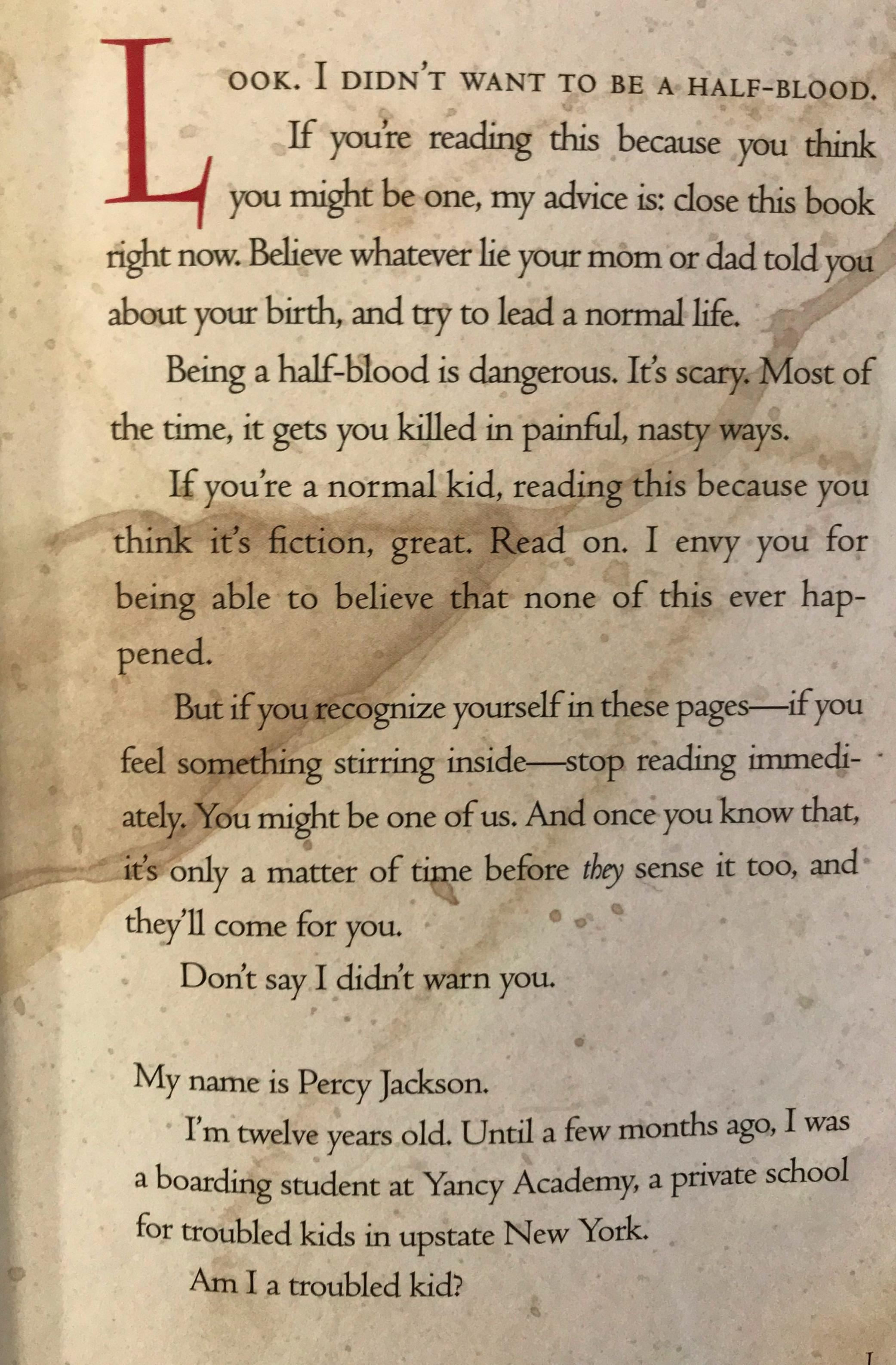 The Lightening Thief Excerpt2.JPG