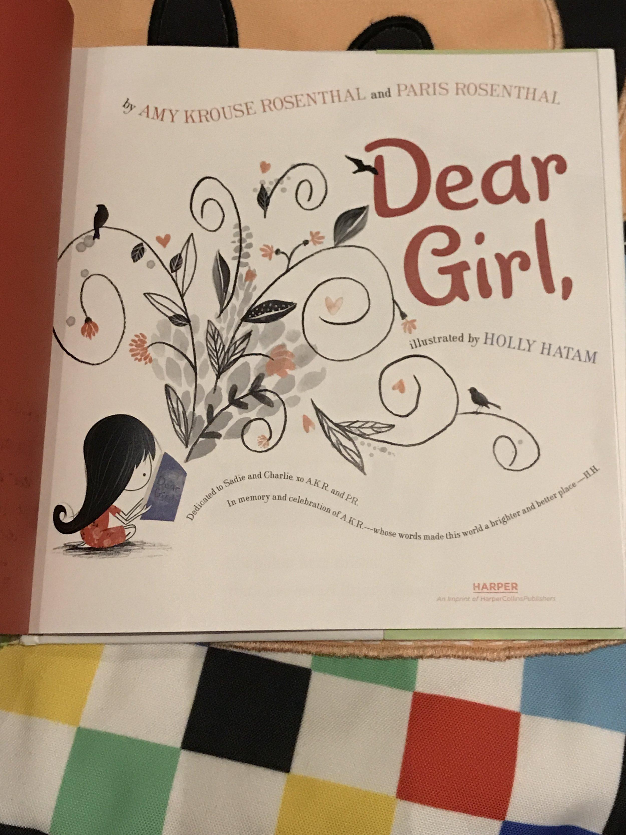 Dear Girl Title Page.JPG