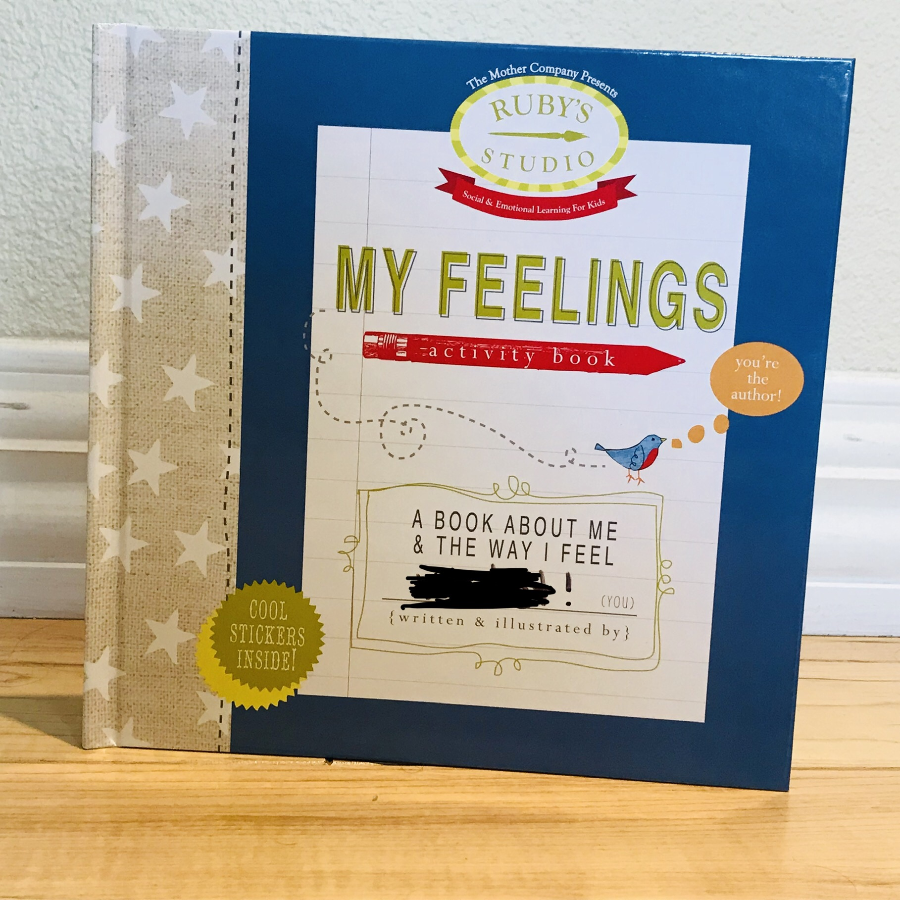 My Feelings Activity Book - For actual help with sorting out feelings, My Feelings Activity Book was published in 2011 and was created by Abbie Schiller and Samantha Kurtzman-Counter with book design by Rae Friis. Full review here.