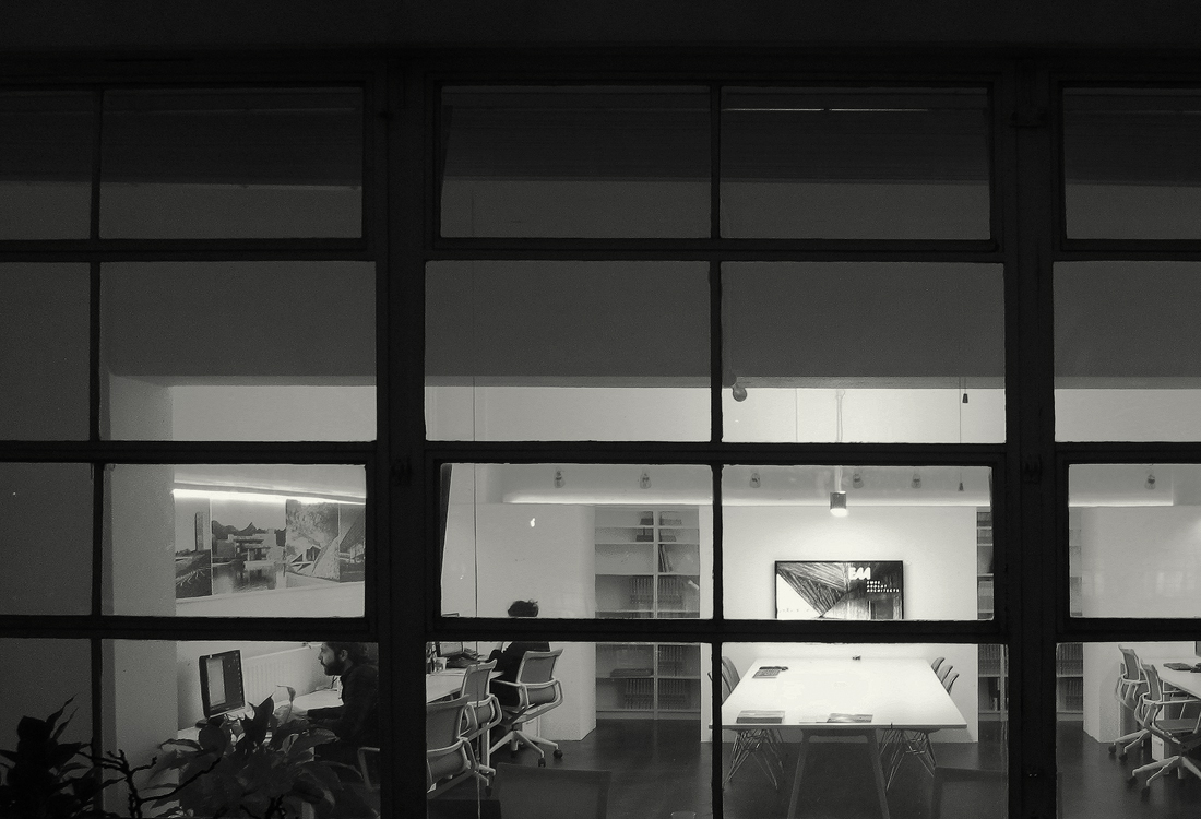 EAAs Office in Bowling Green Lane London seen from the roof terrace