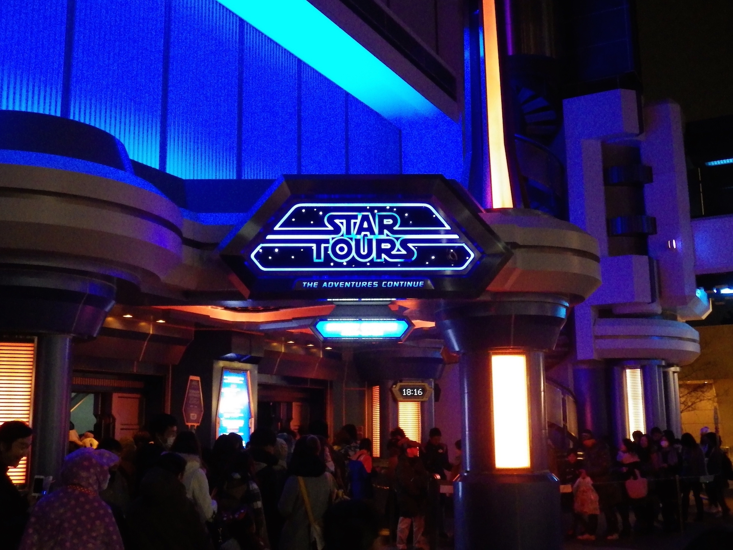 "Tokyo Disneyland's version of Star Tours first opened in 1989, though a major revamp of the ride occurred in 2013, to bring it in line with the ""Adventures Continue"" model."