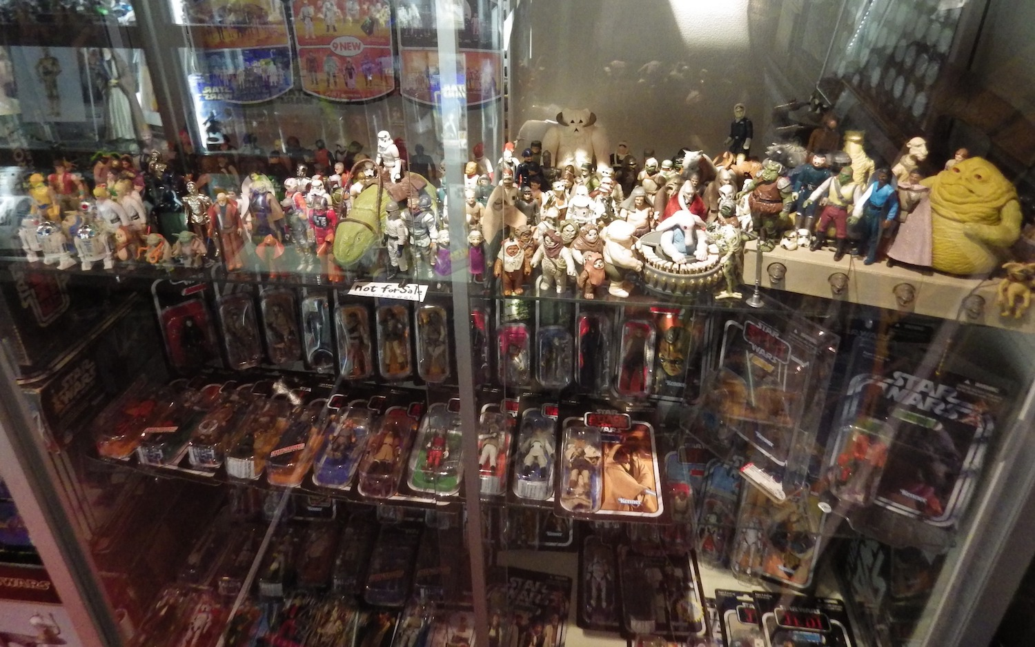 Star Wars figures at a specialty shop called     Star Case   in Koenji, Tokyo.