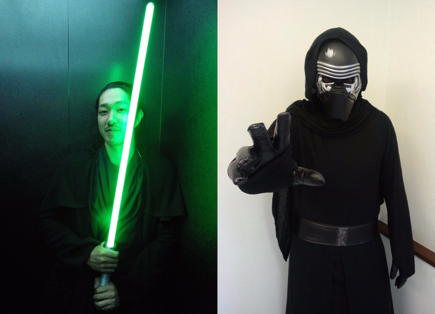 Star Wars cosplayers in Tokyo.
