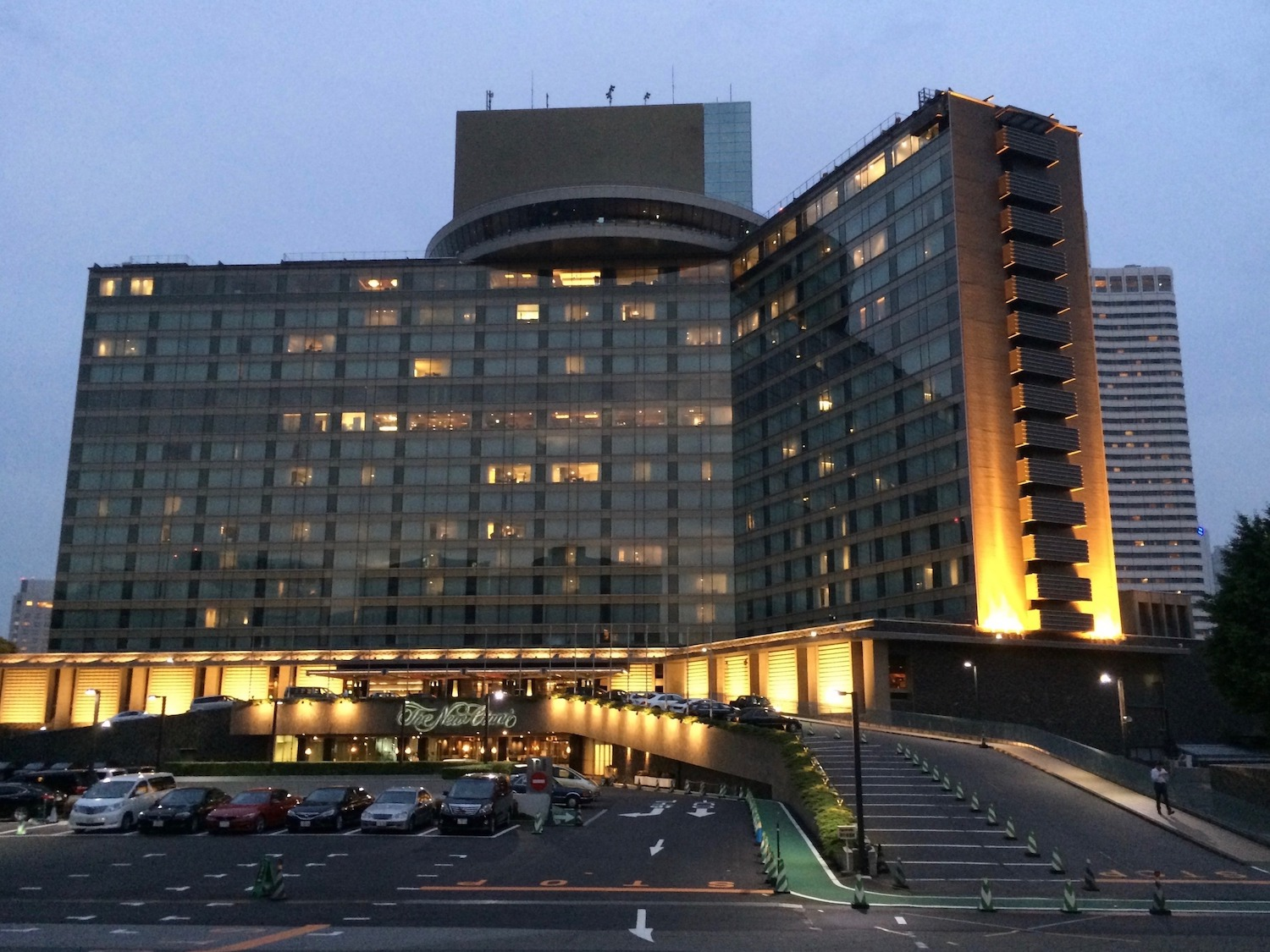 The   Hotel New Otani Tokyo,   which doubled as the headquarters of Osato Chemicals in  You Only Live Twice  (1967).