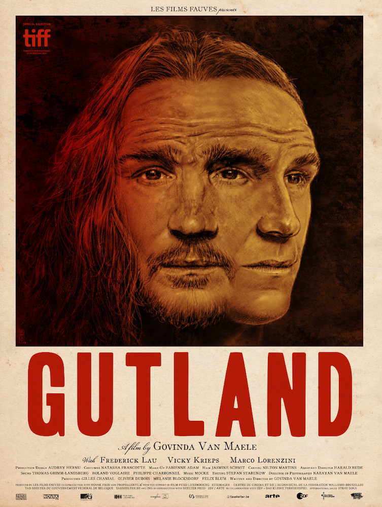 Gutland  poster art by   Gilles Vranckx.