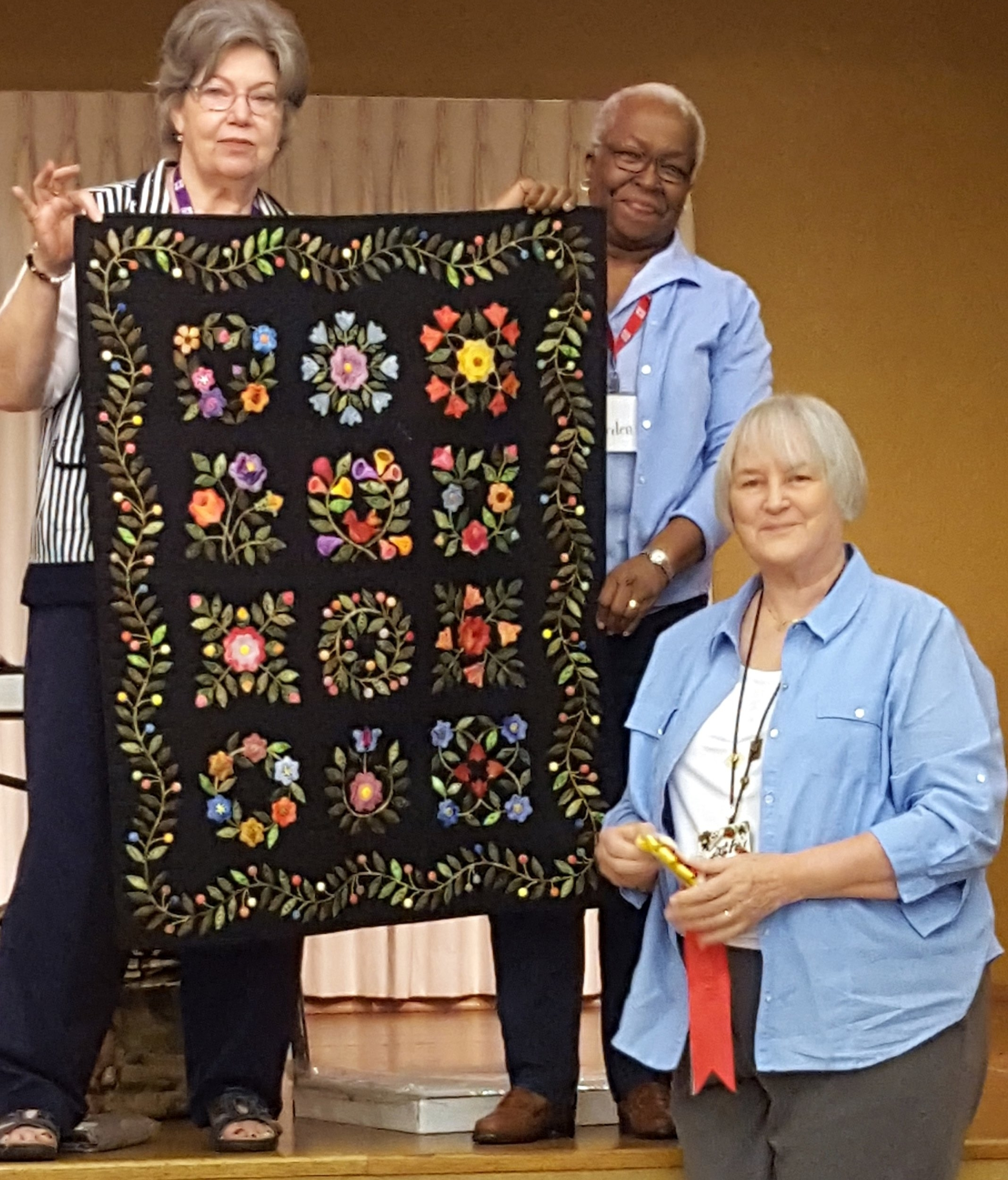 Kathy Gregory: Best Machine Quilted Small