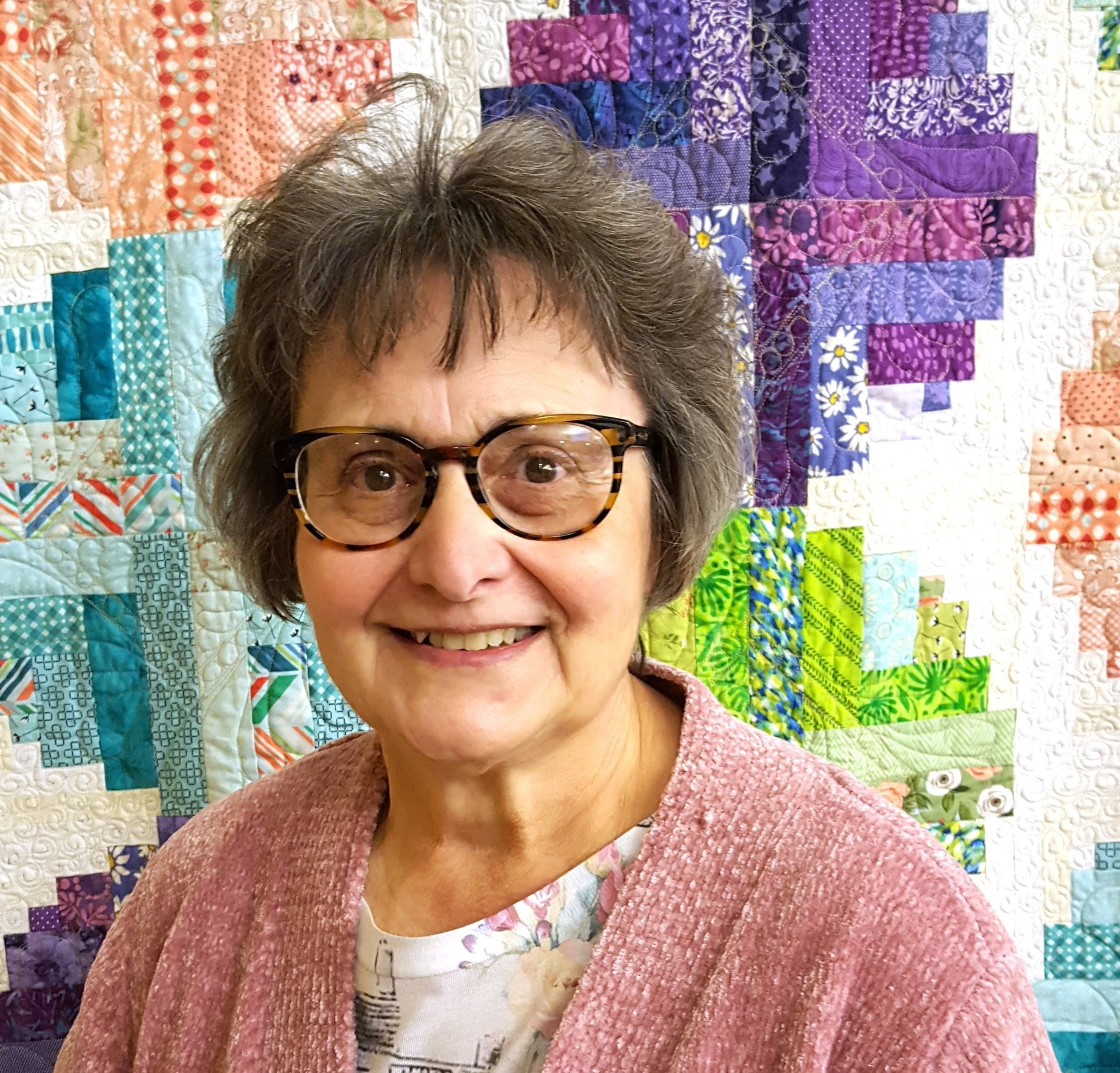 candy hargrove picture in front of opportunity quilt.jpg