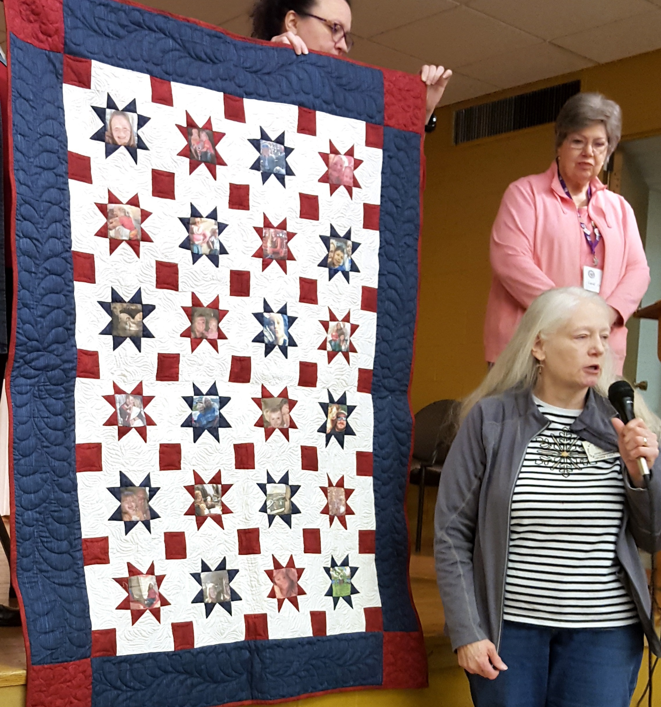 show and tell memory quilt in stars.jpg