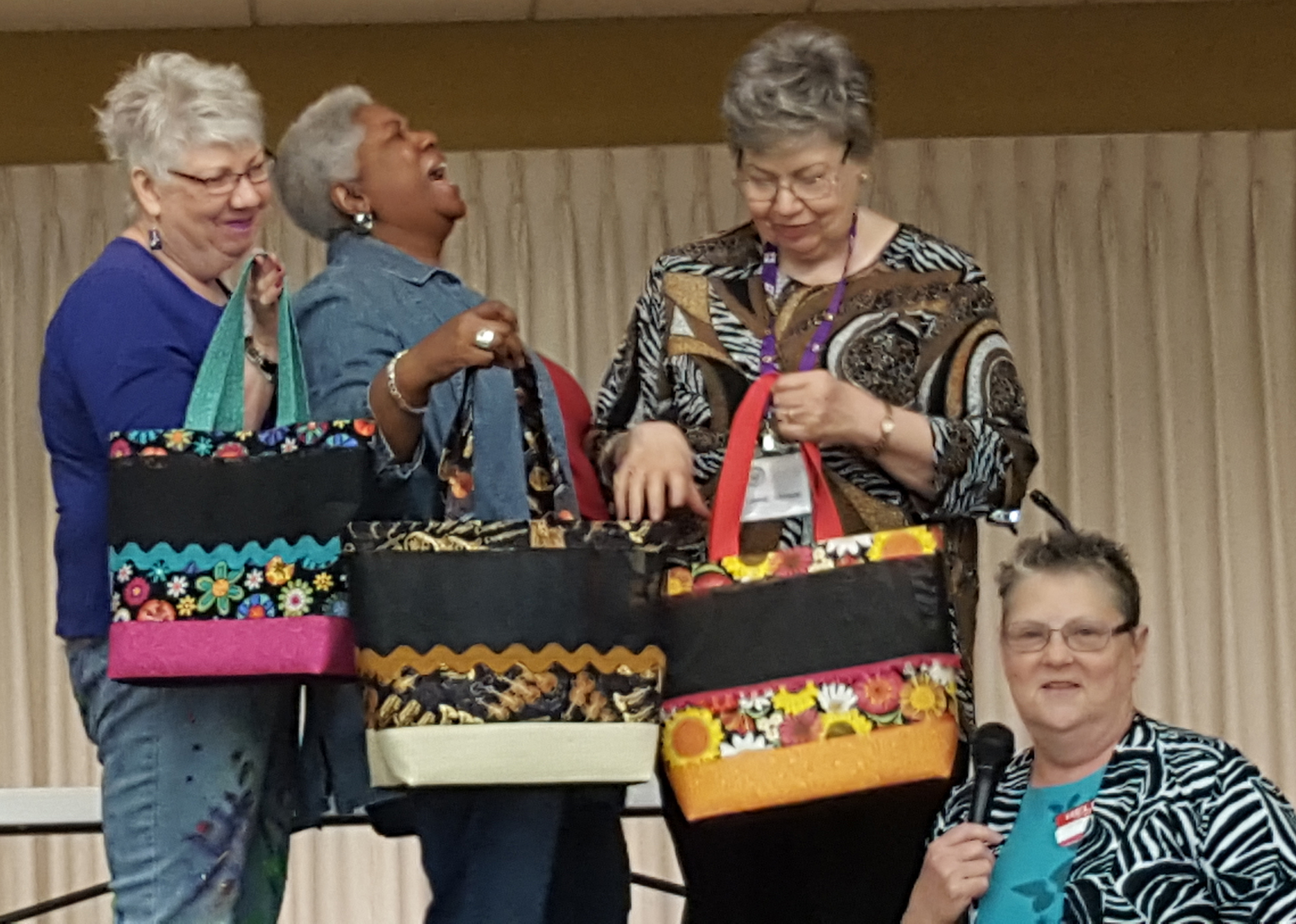 Naida McKee - Bags with too much fun girls.jpg