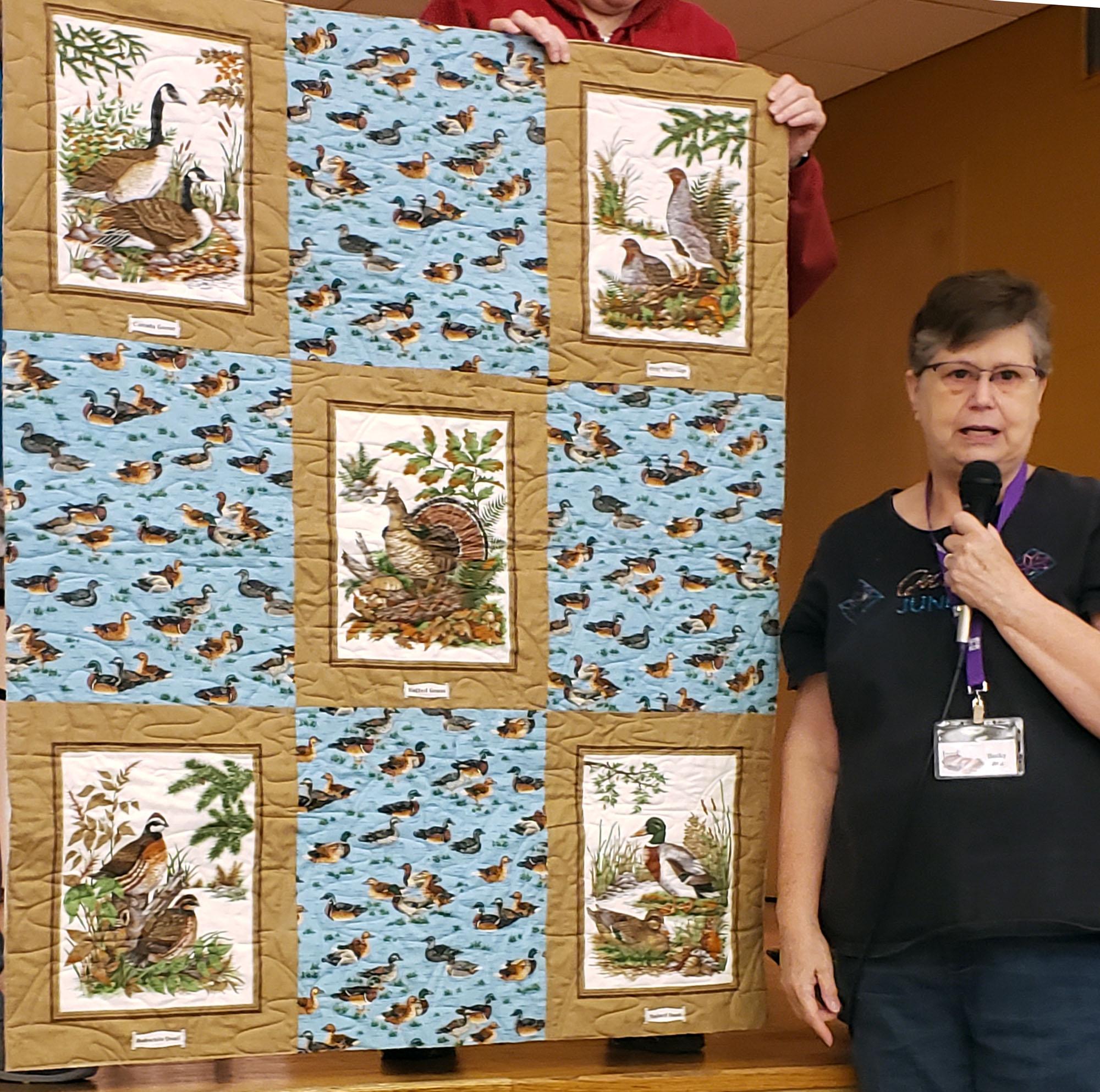 Community lap quilt