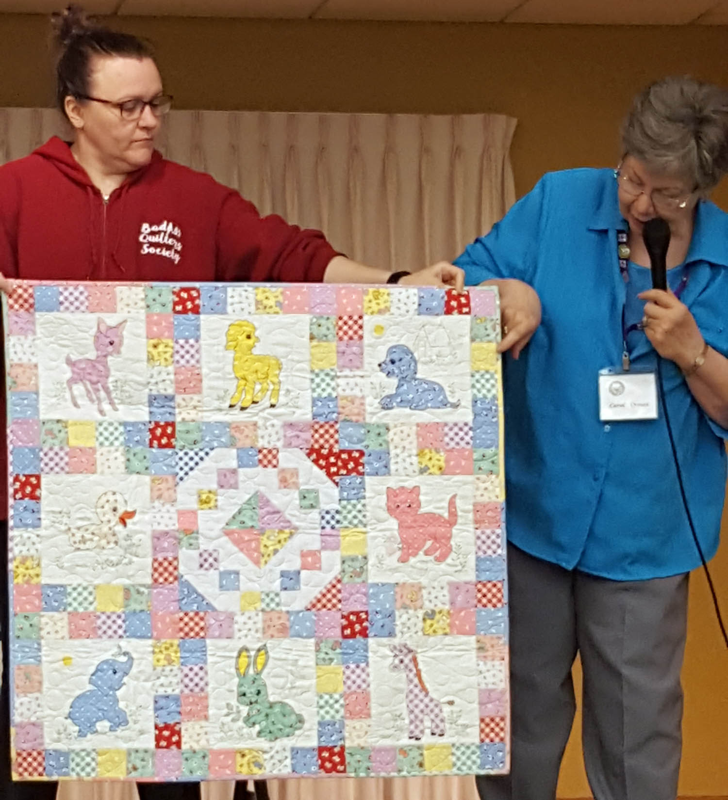 Carol - Crouse - Delightful Baby Quilt