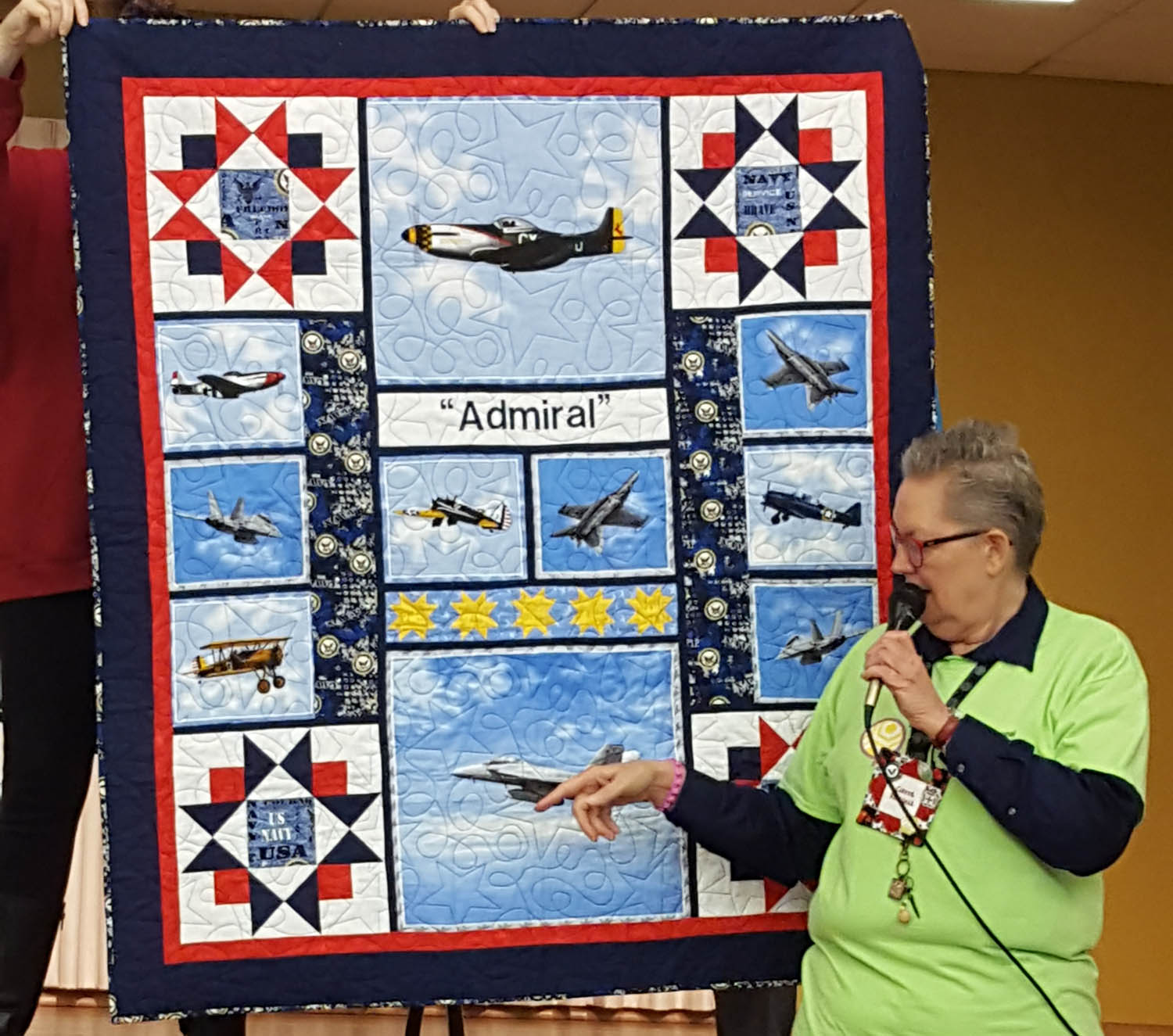 Carol - Russell Quilt of Valor
