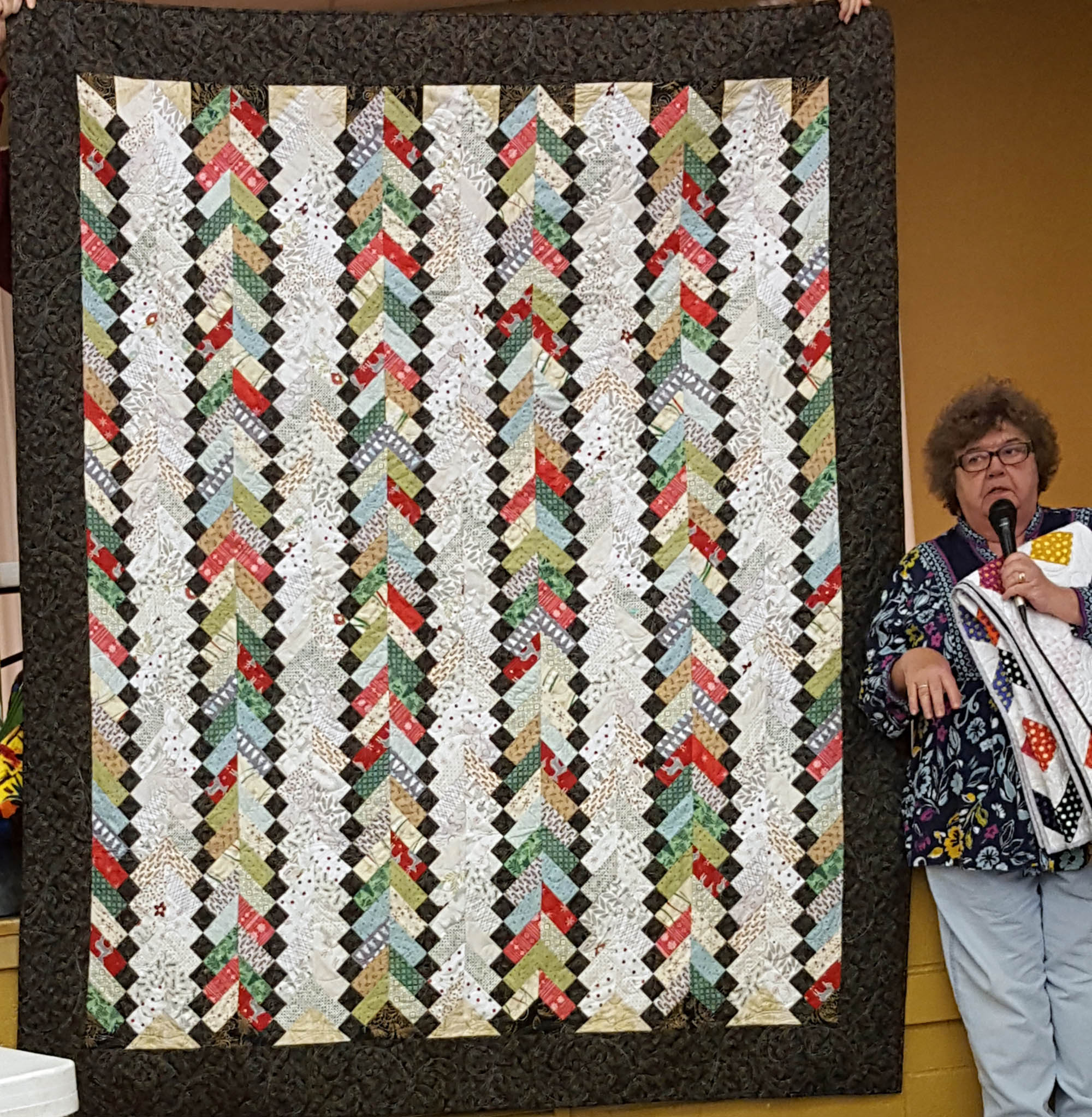 Jill Dean - Texas Braid - Christmas quilt