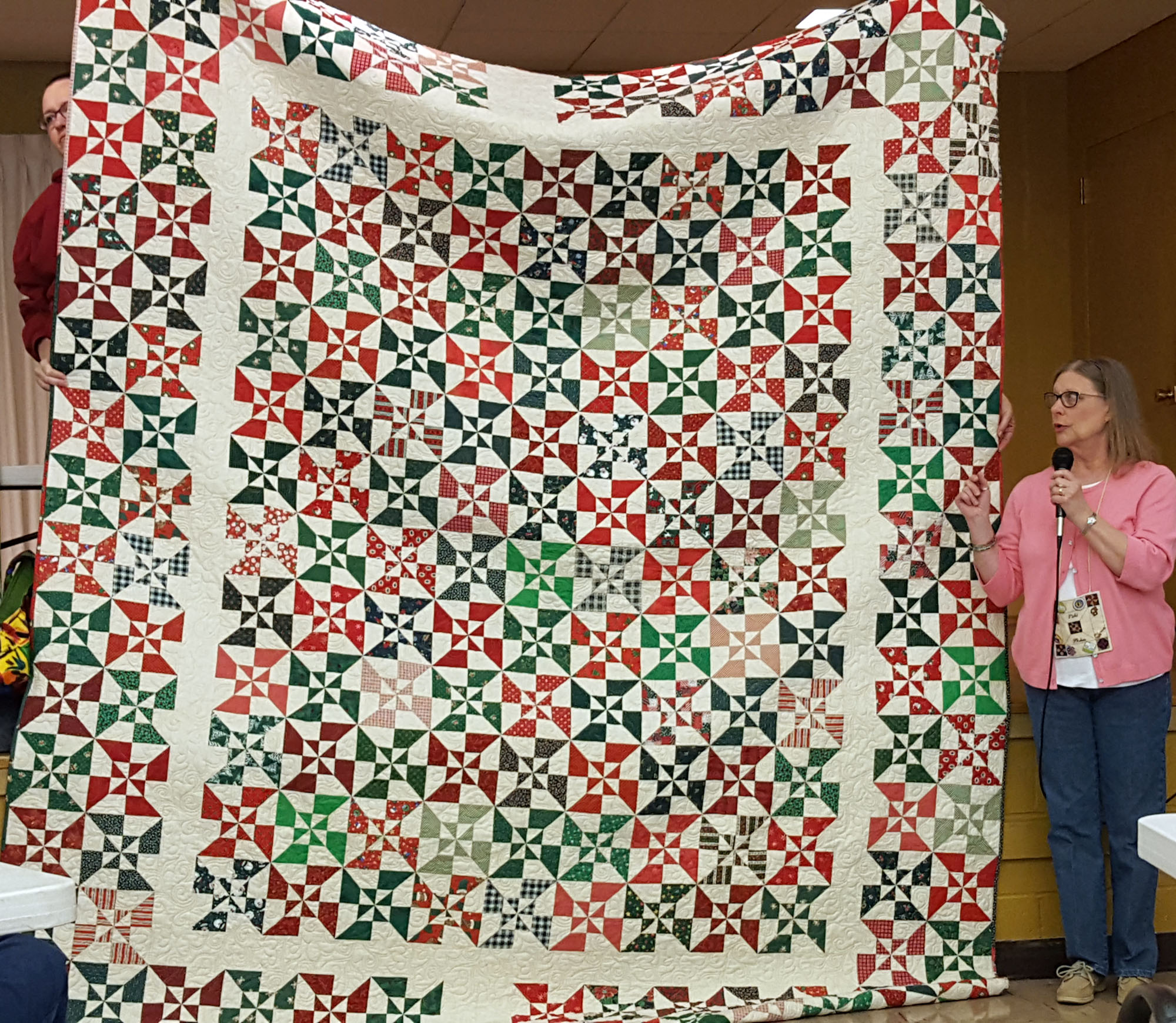 Vicki Phalan - The quilt that kept growing