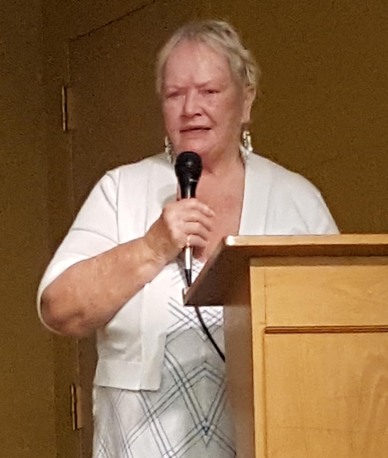 Our Speaker Patricia Beaver
