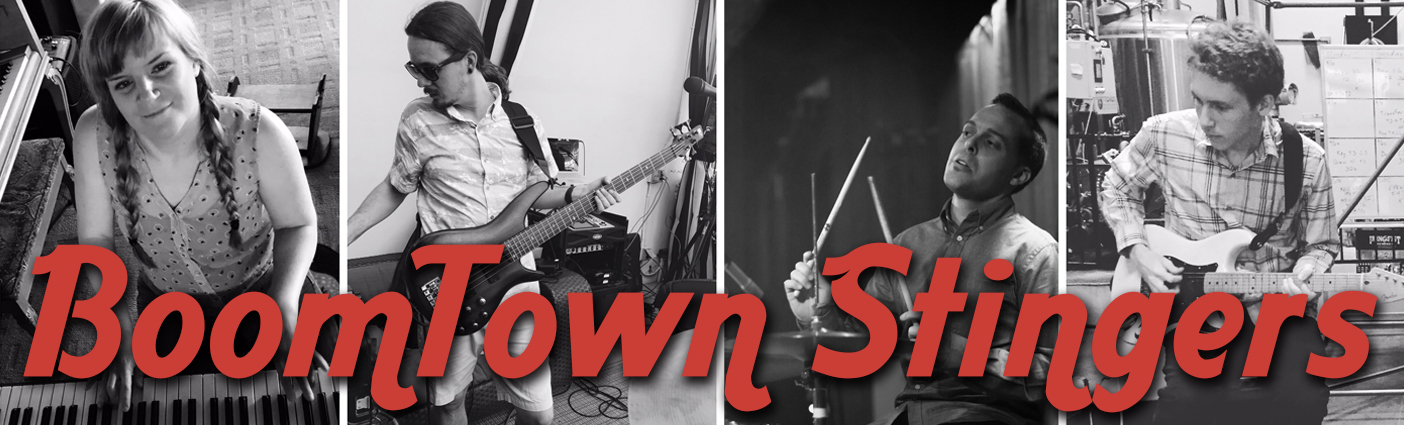 BoomTown Stingers is a San Diego based band that specializes good vibes and great music with a focus on Soul, Funk, and Rock.