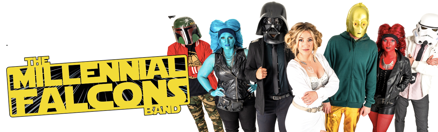 Space out on all of your favorite top 40's music while paying tribute to one of the best movie series of all time!The Millennial Falcons want to bring the Space Age to life and up to speed with you!