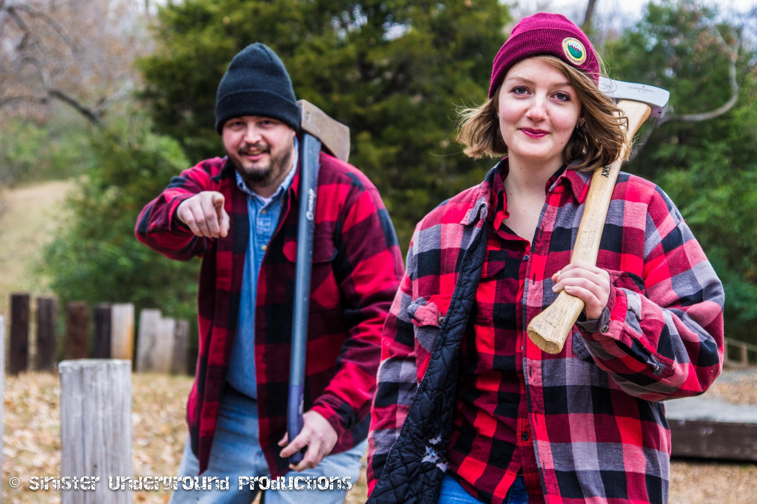 Chloe & Erik's Christmas photoshoot