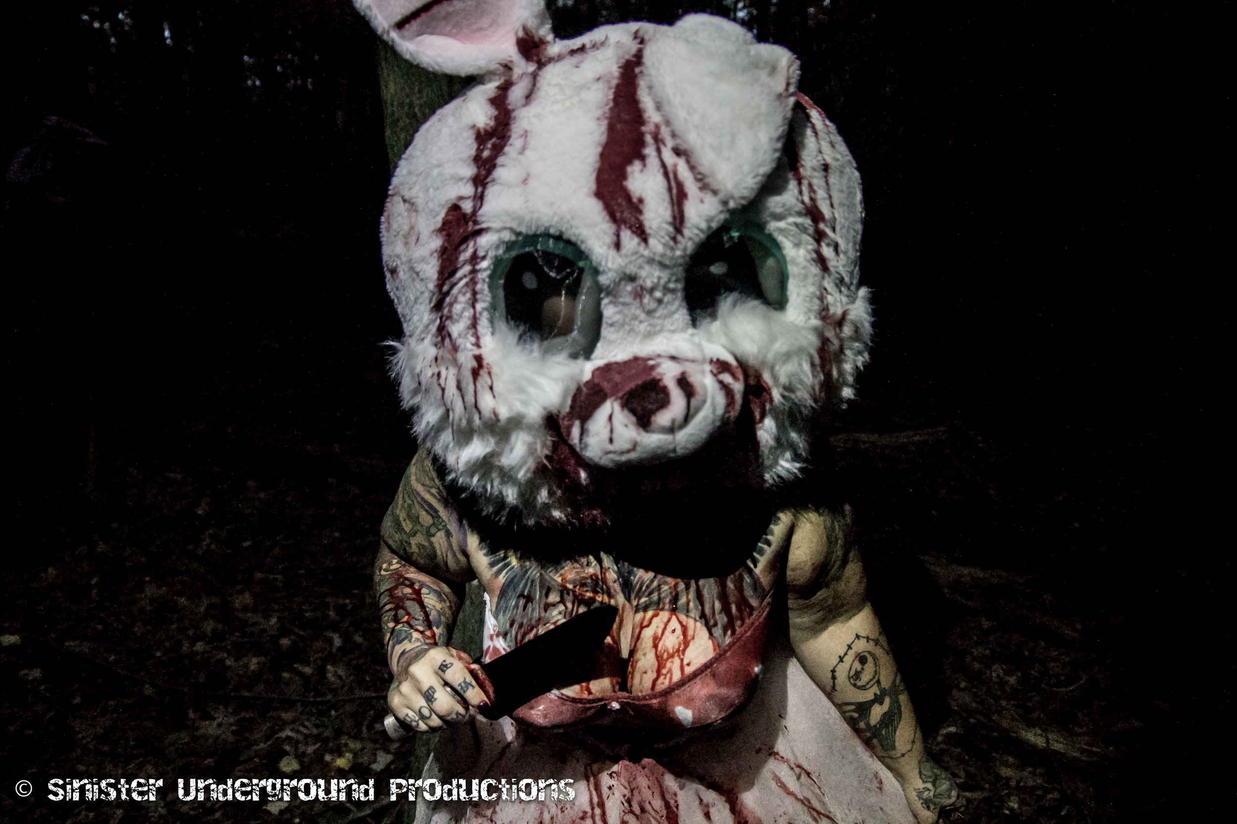 Lilith the horror bunny