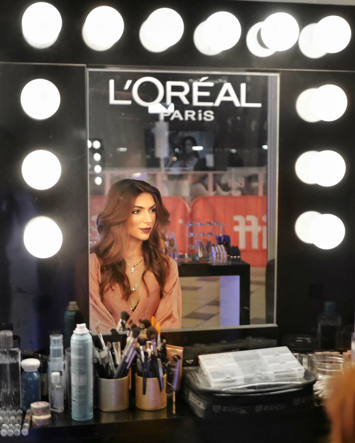 Film Festival Glam in the L'Óréal Beauty Suite - - Beauty The Beauty Suite at the Toronto International Film Festival takes us behind all the red carpet action where the stars and influencers go to get ready before a big night on the town!