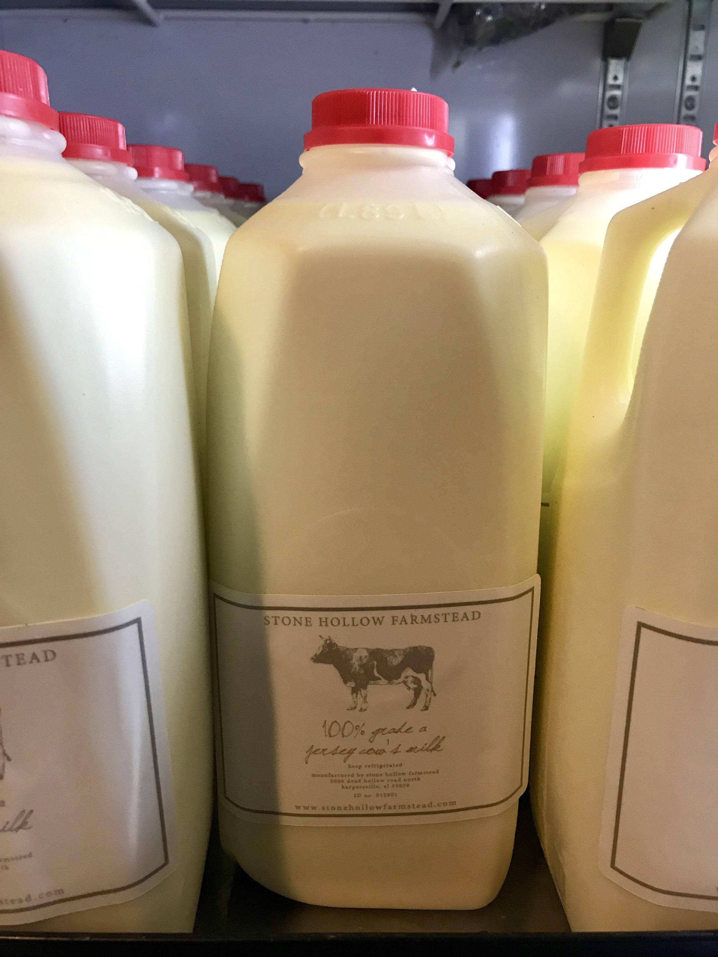 Whole Milk /  Stone Hollow Farmstead