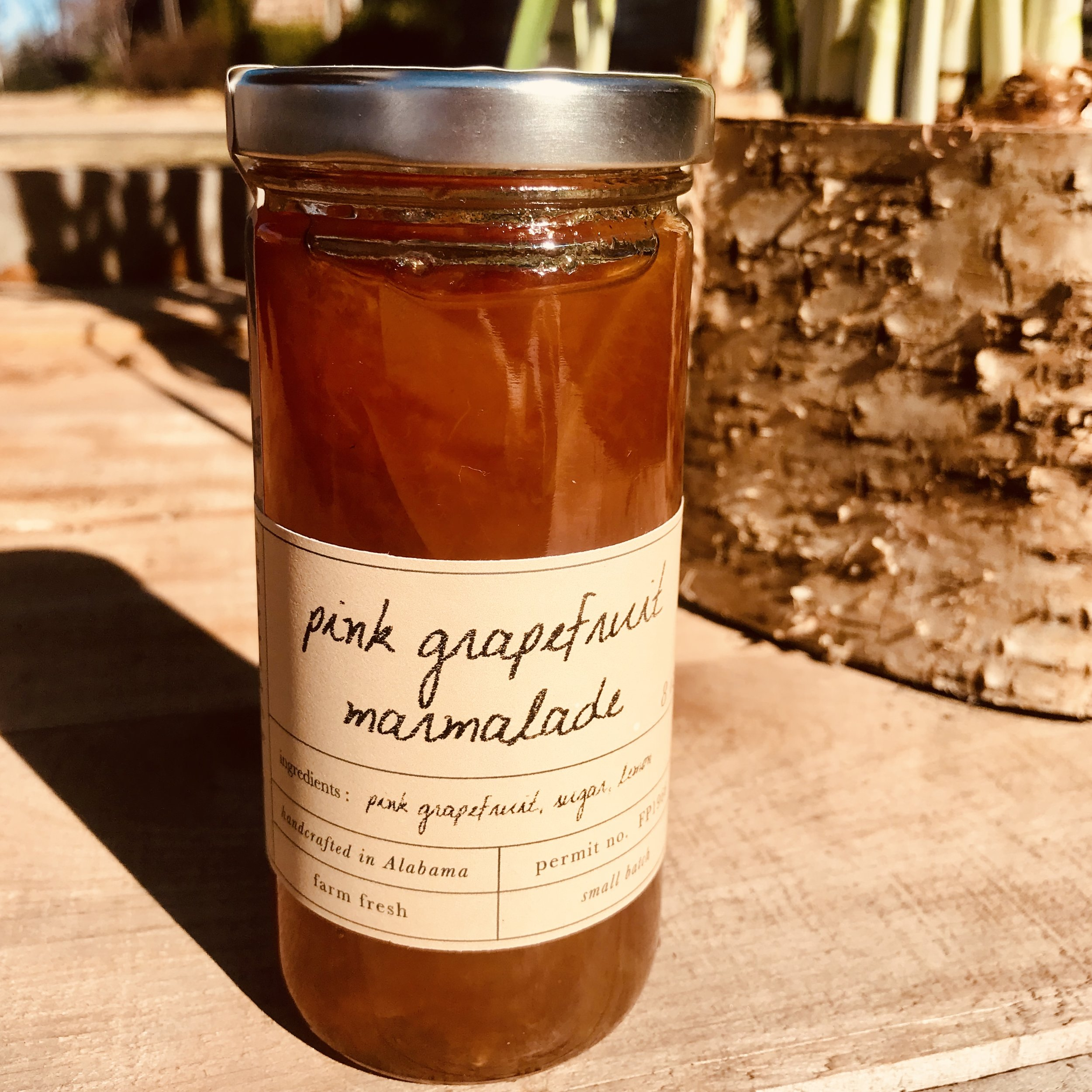 Pink Grapefruit Marmalade /  Stone Hollow Farmstead