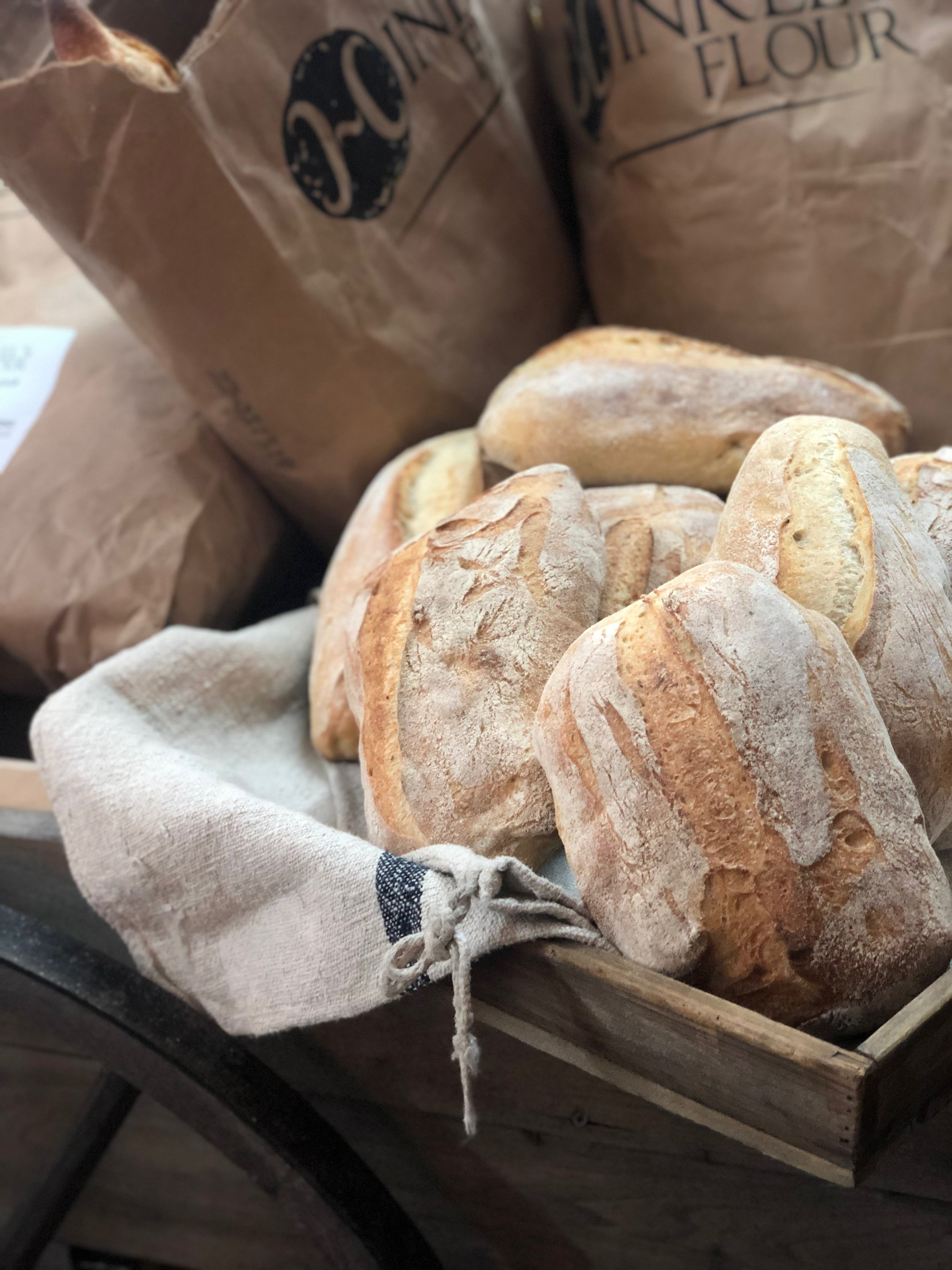Rosemary Bread  /   Hinkel's Bakery