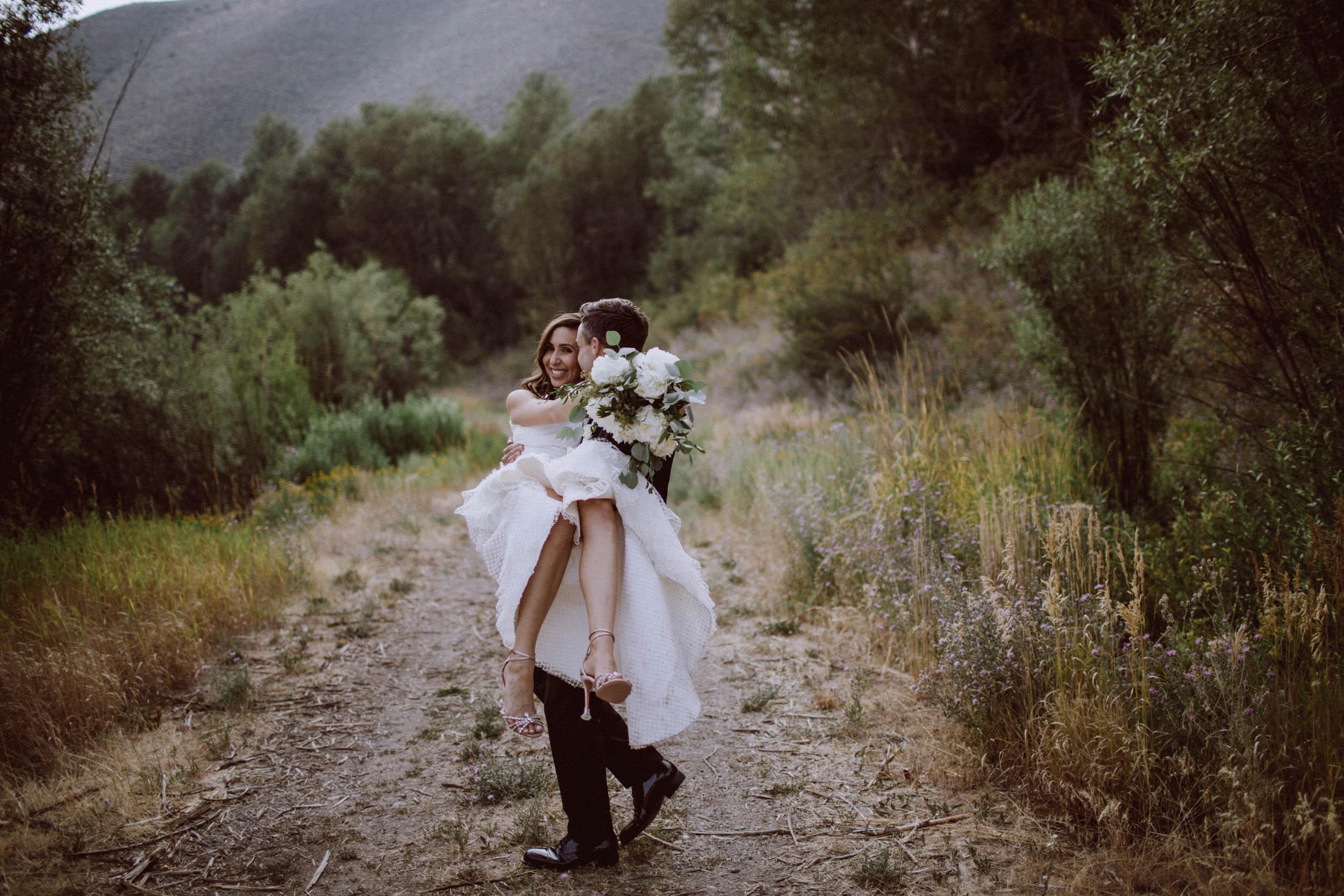 Adam + Daniella | Trail Creek Wedding
