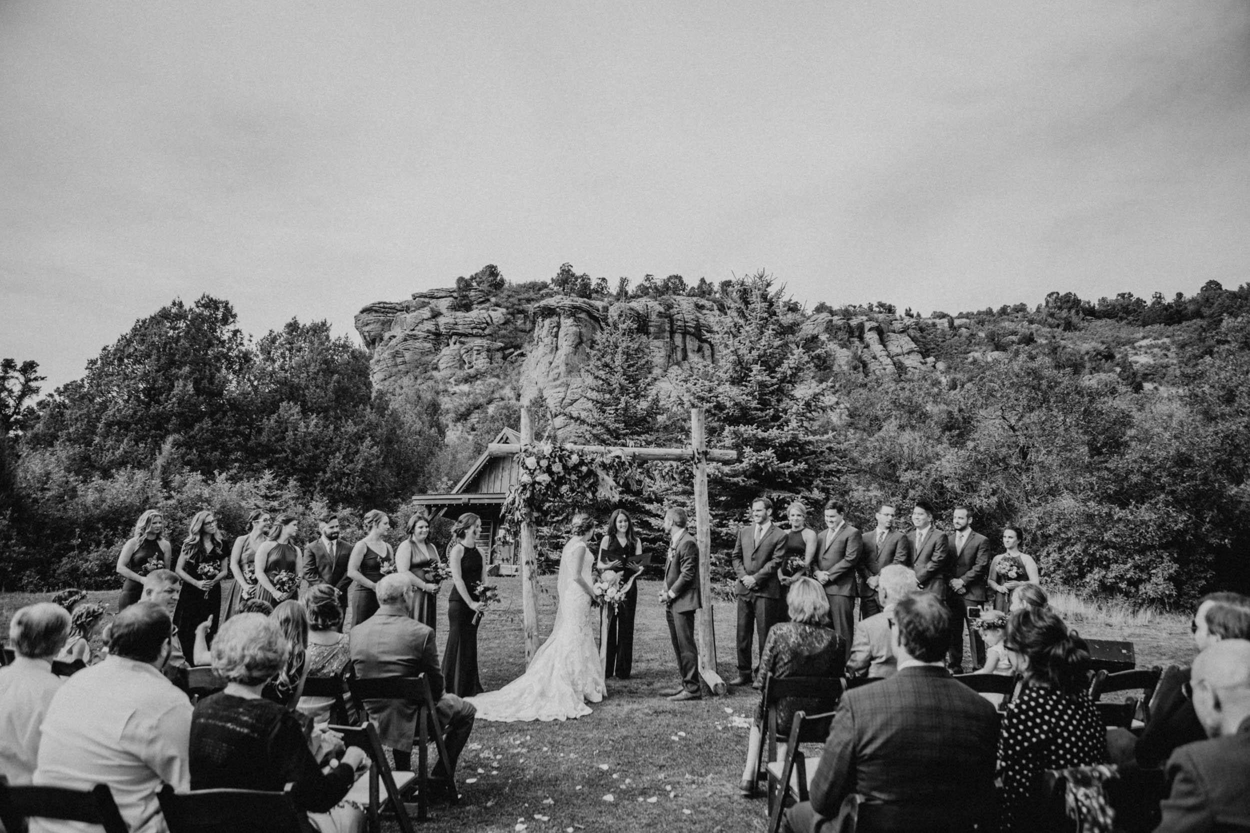 Alex & Michelle | Red Cliff Ranch Wedding