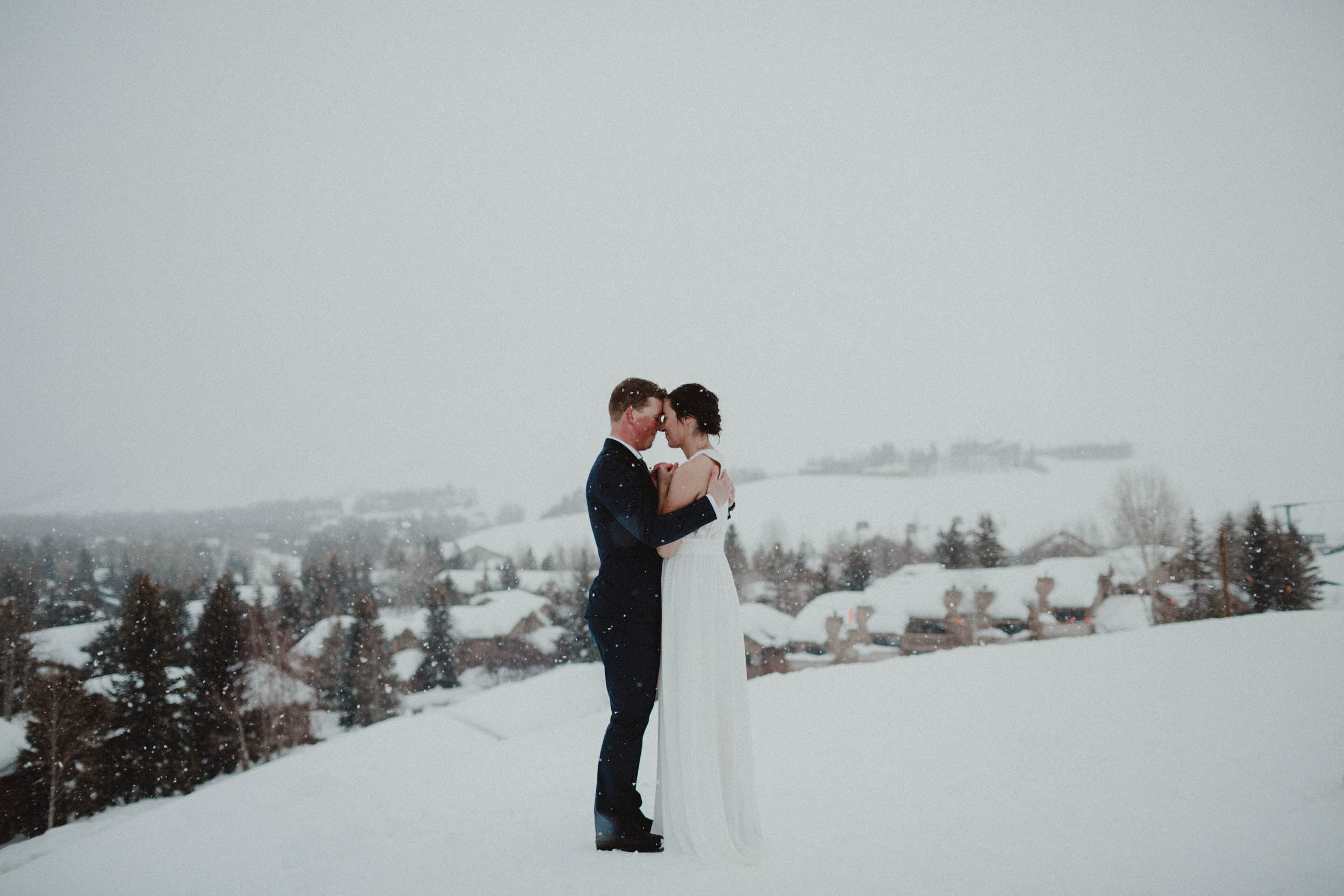 David & Tessa | Sun Valley Winter Wedding