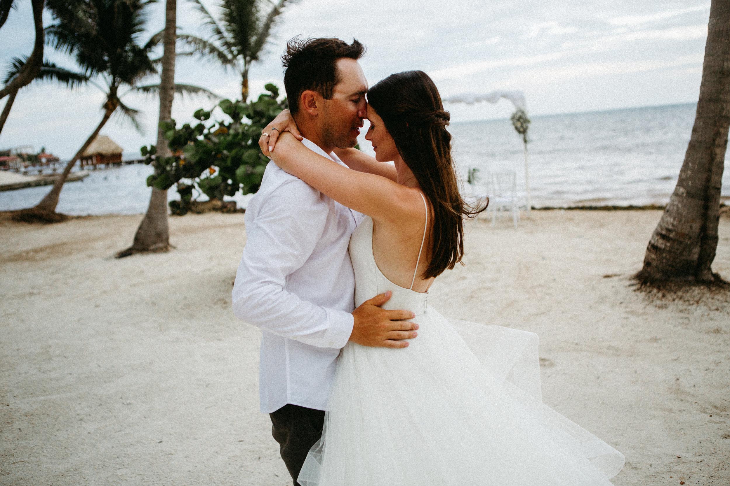Jed & Kate | Ambergris Caye Wedding