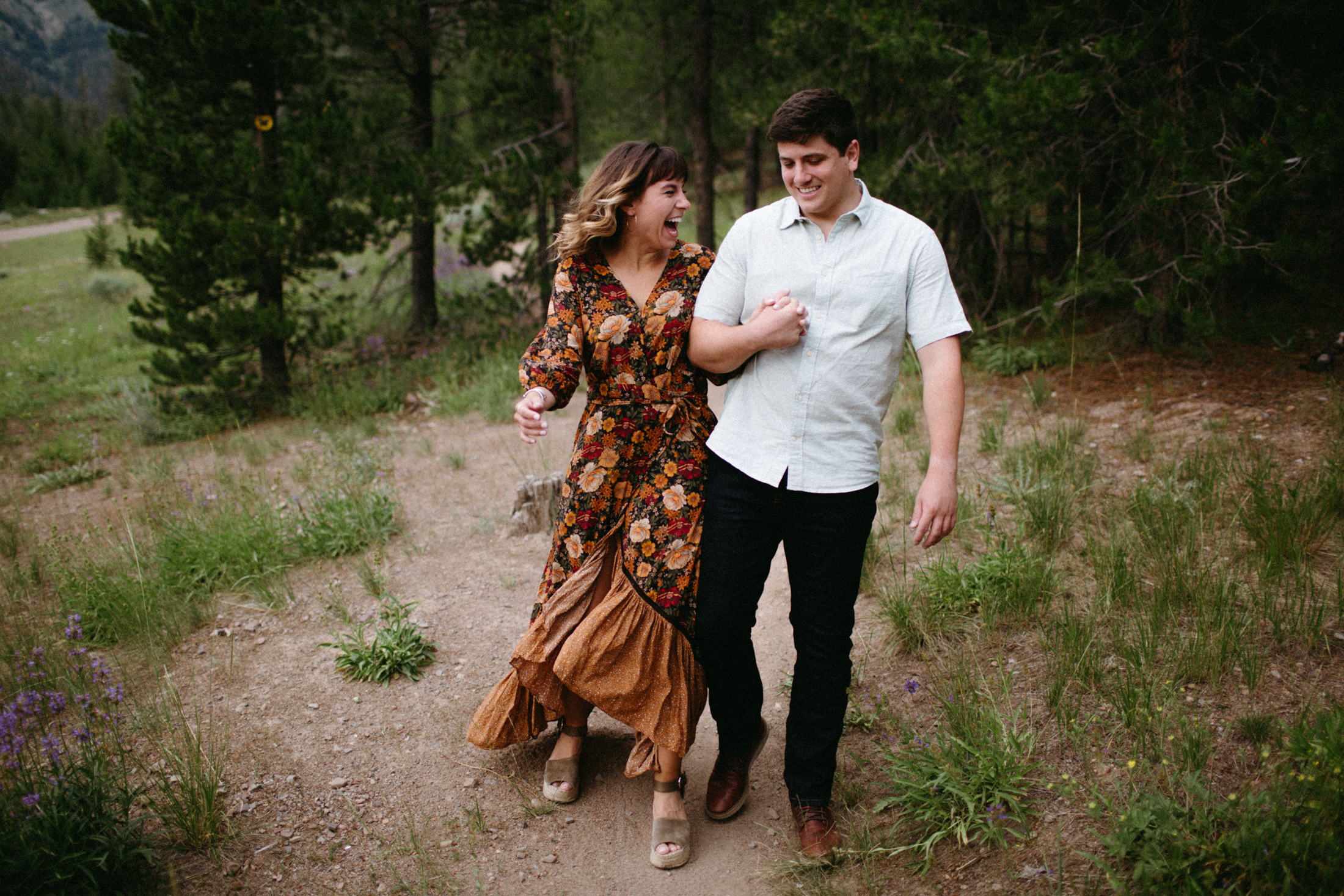 Meredith & Michael | Sawtooth Engagement Photos