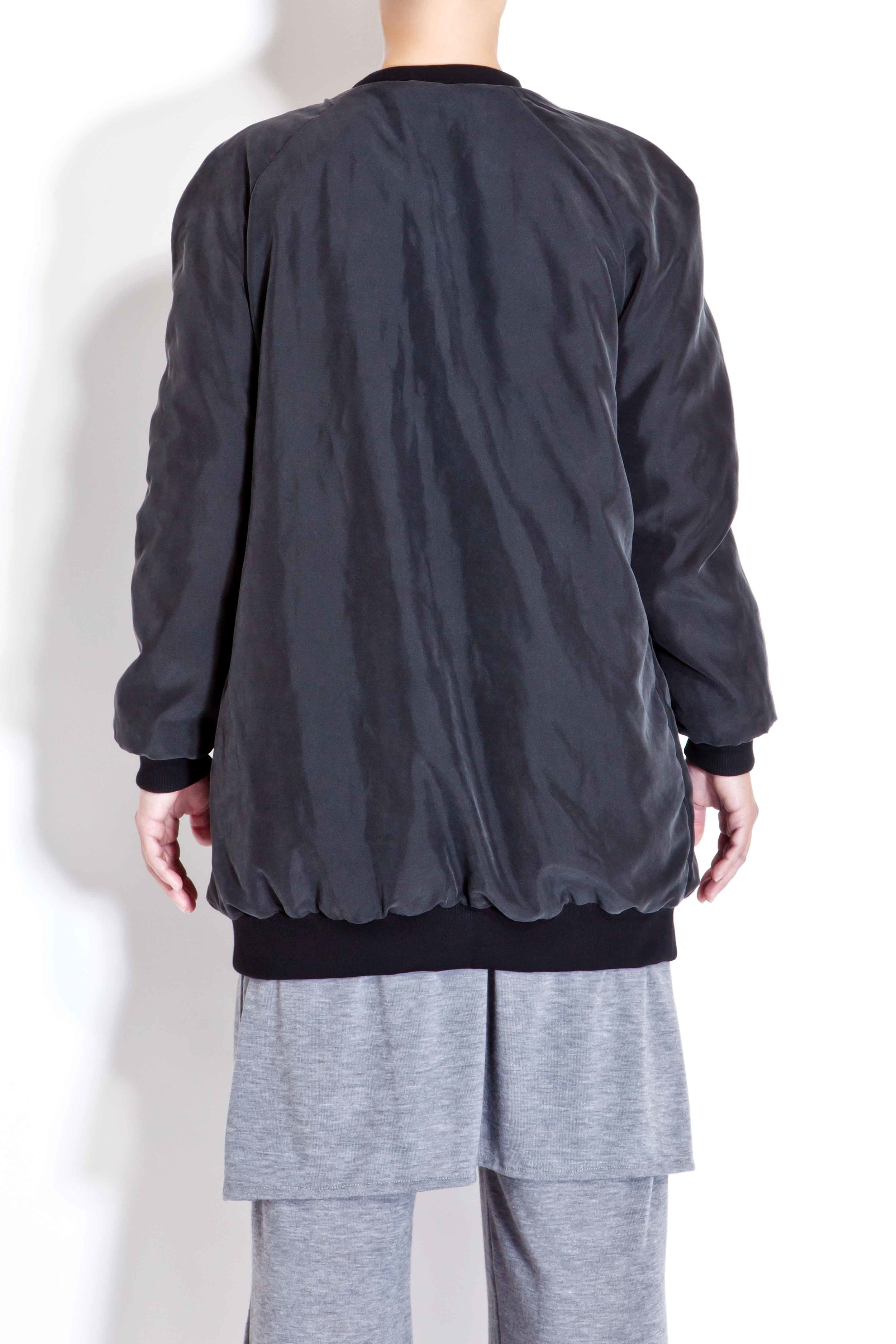 Double-faced bomber jacket